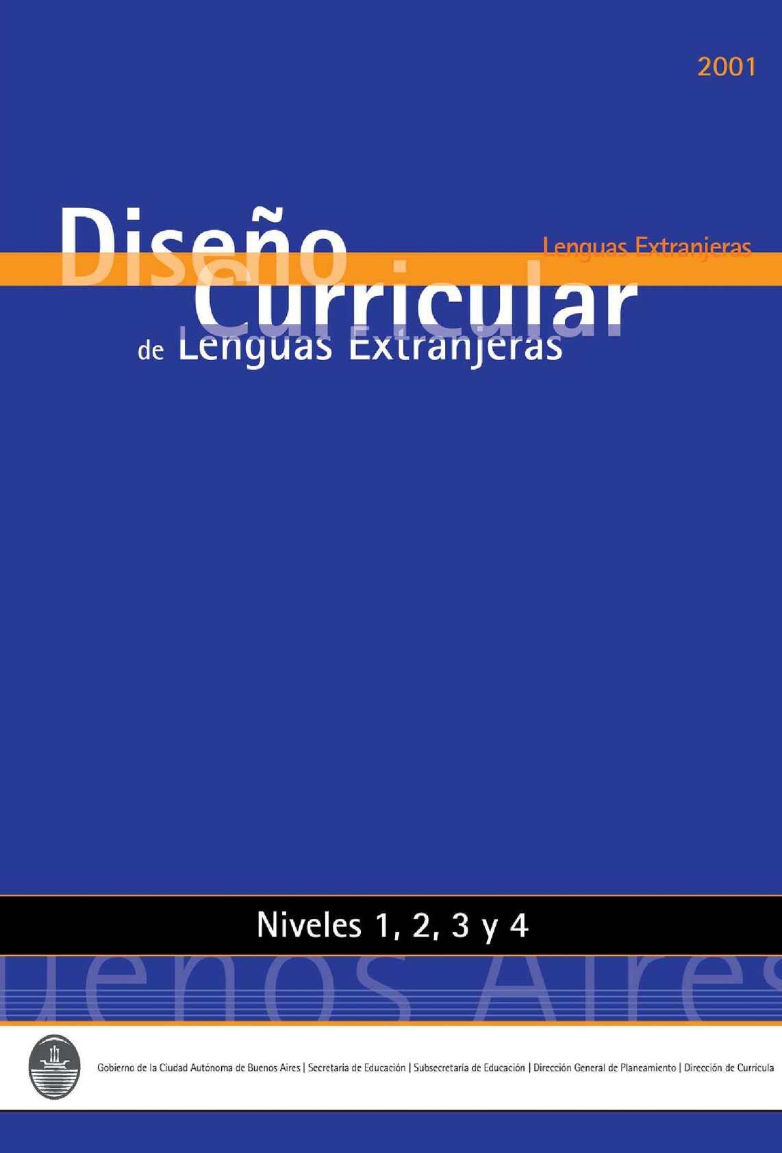 Calaméo - Diseño Curricular de Idiomas Extranjeros
