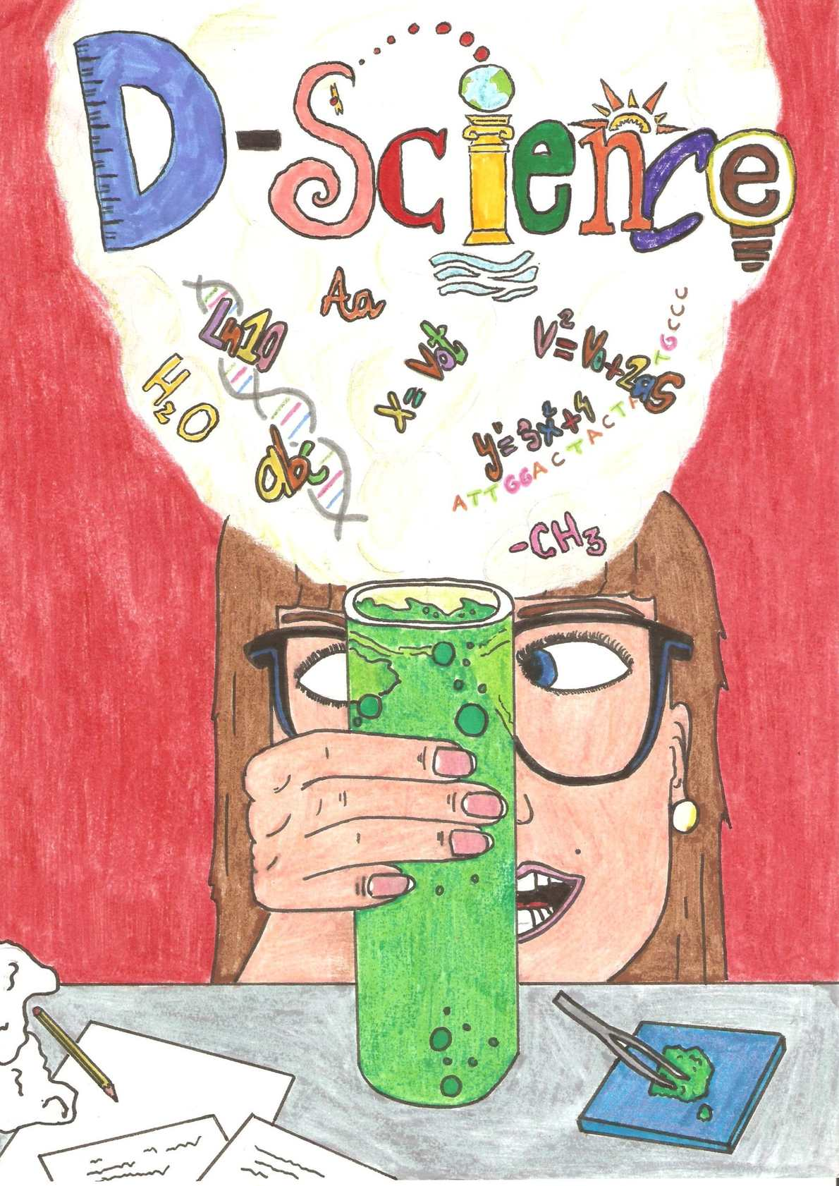 DScience (Revista en ingles realizada por los alumnos de 1º D para Proyecto integrado
