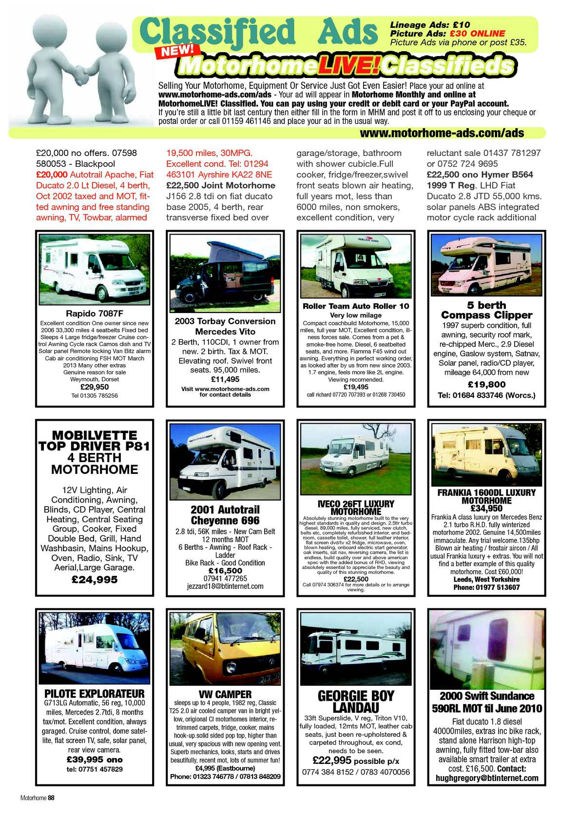 July 2012 motorhome monthly magazine calameo downloader page 90 fandeluxe Gallery