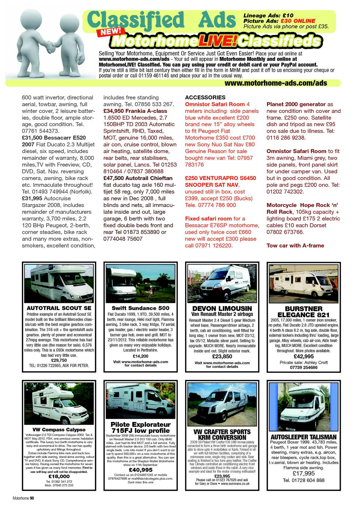 July 2012 motorhome monthly magazine calameo downloader page 92 fandeluxe Gallery