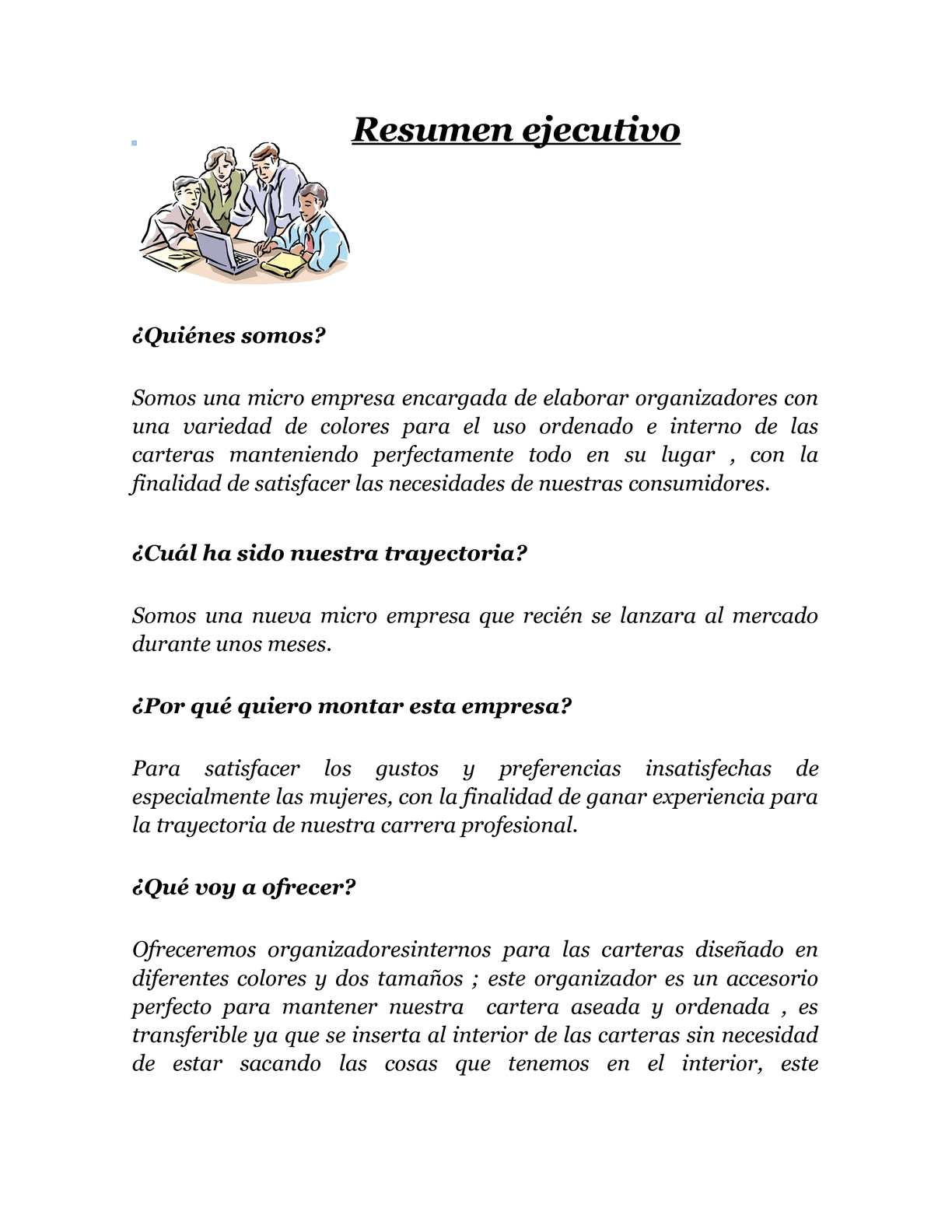 Famoso Resumen De Resumen De Resumen Administrativo Profesional ...