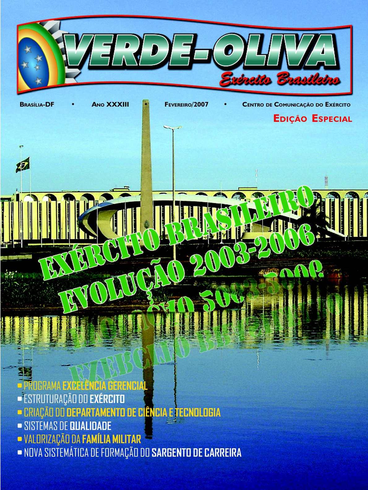 Revista Verde-Oliva Edição Especial