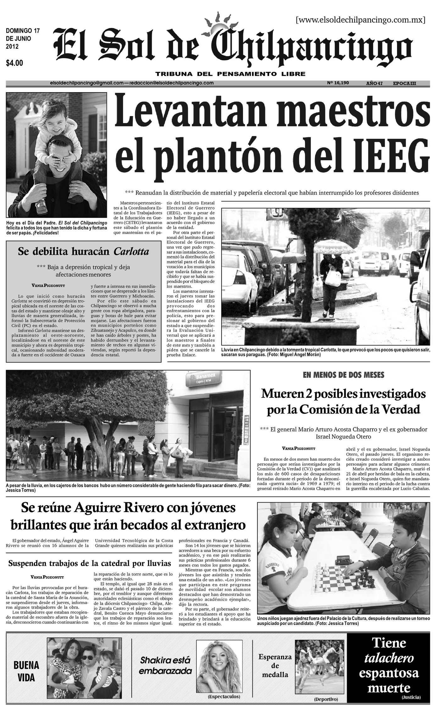 Calaméo - El Sol de Chilpancingo - 17 Junio 2012