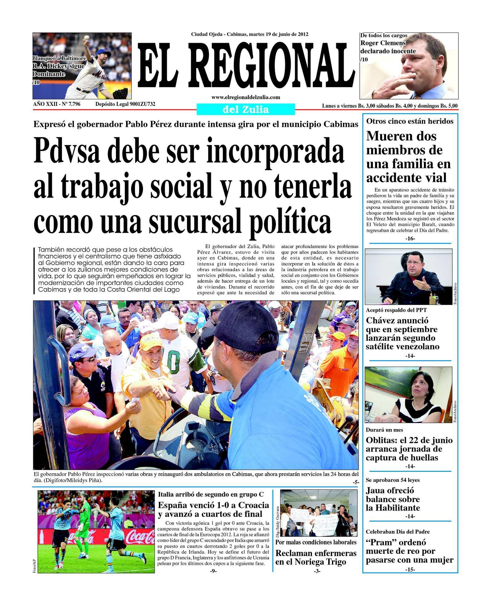 Calaméo - El Regional del Zulia 19-06-2012