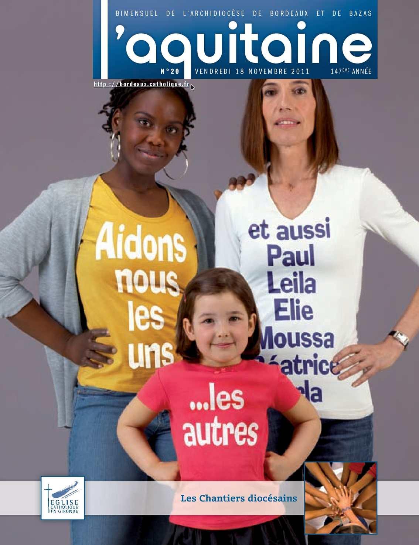 Calam o 2011 20 l 39 aquitaine novembre 2011 le journal des catholiqu - Le journal de bordeaux ...