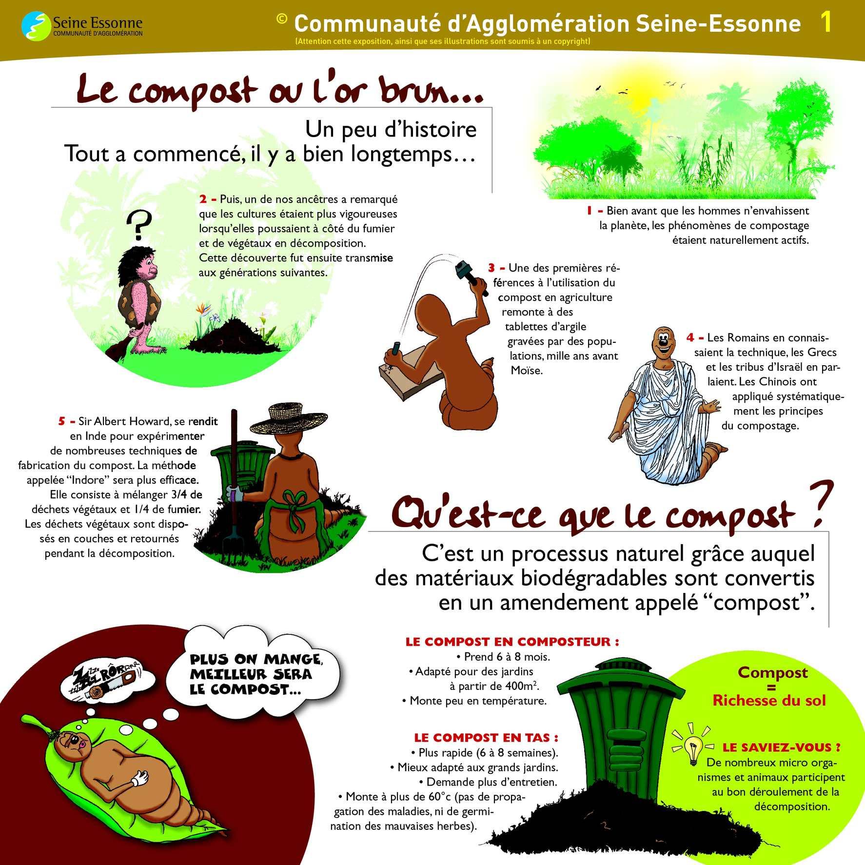 Calam o exposition sur le compostage - Communaute d agglomeration les portes de l essonne ...