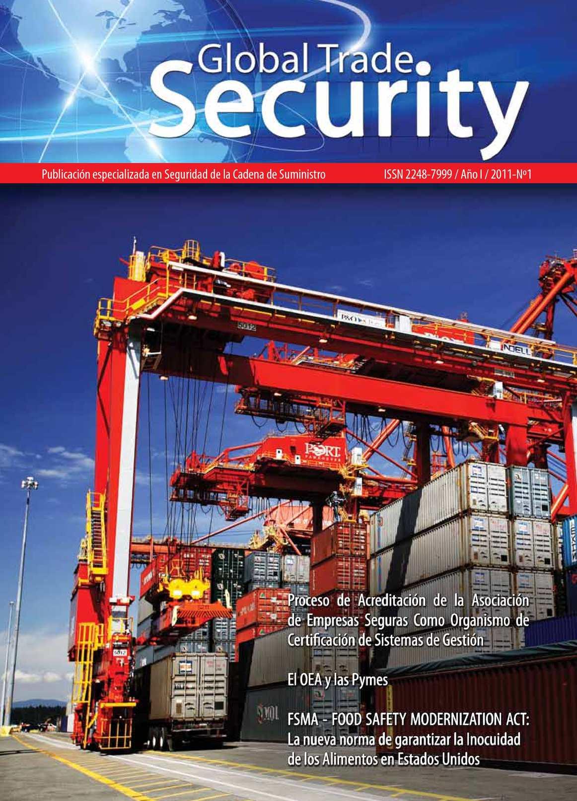 Revista Global Trade Security - Edicion No. 01