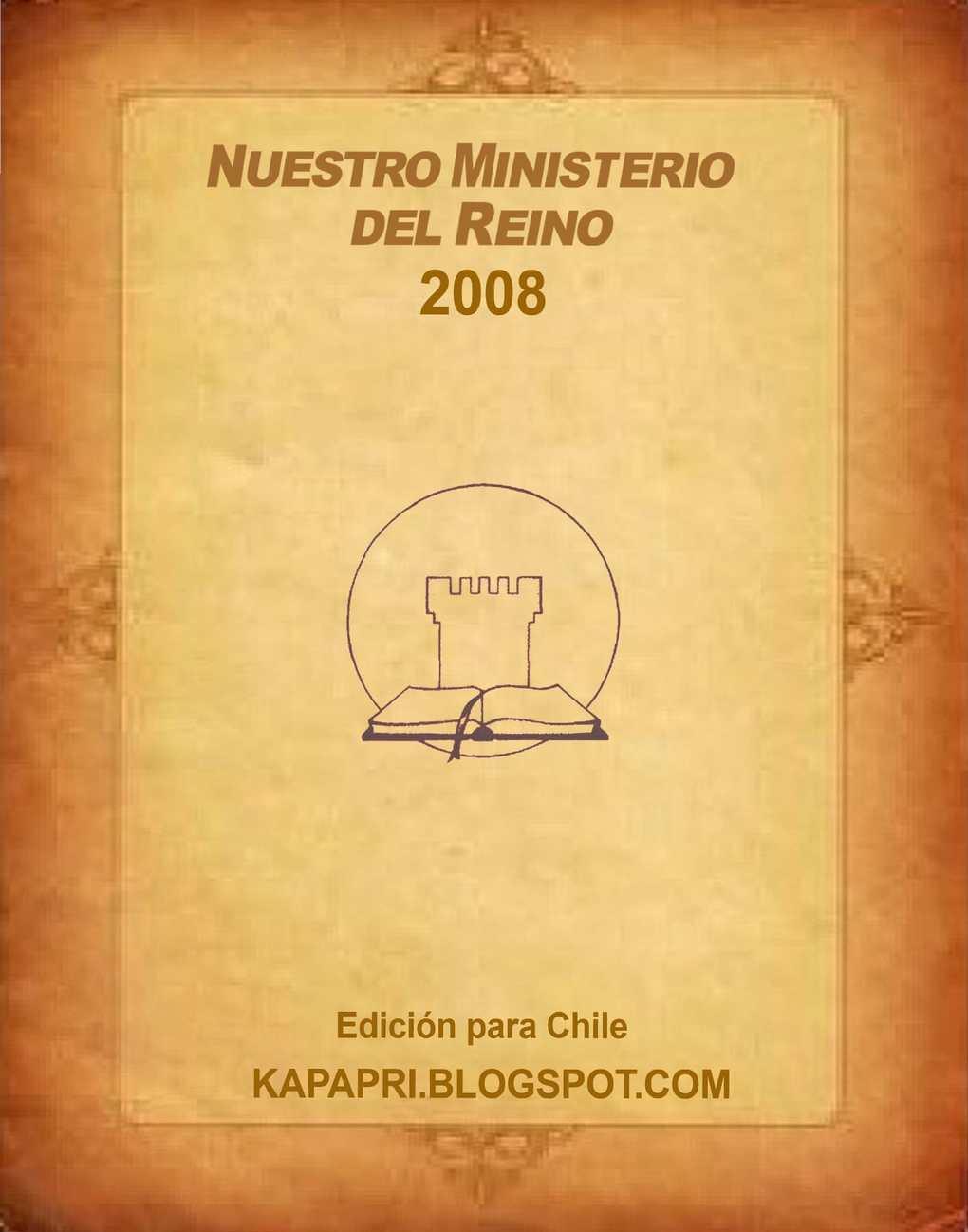 Calaméo - 2008 Nuestro Miniserio el Reino