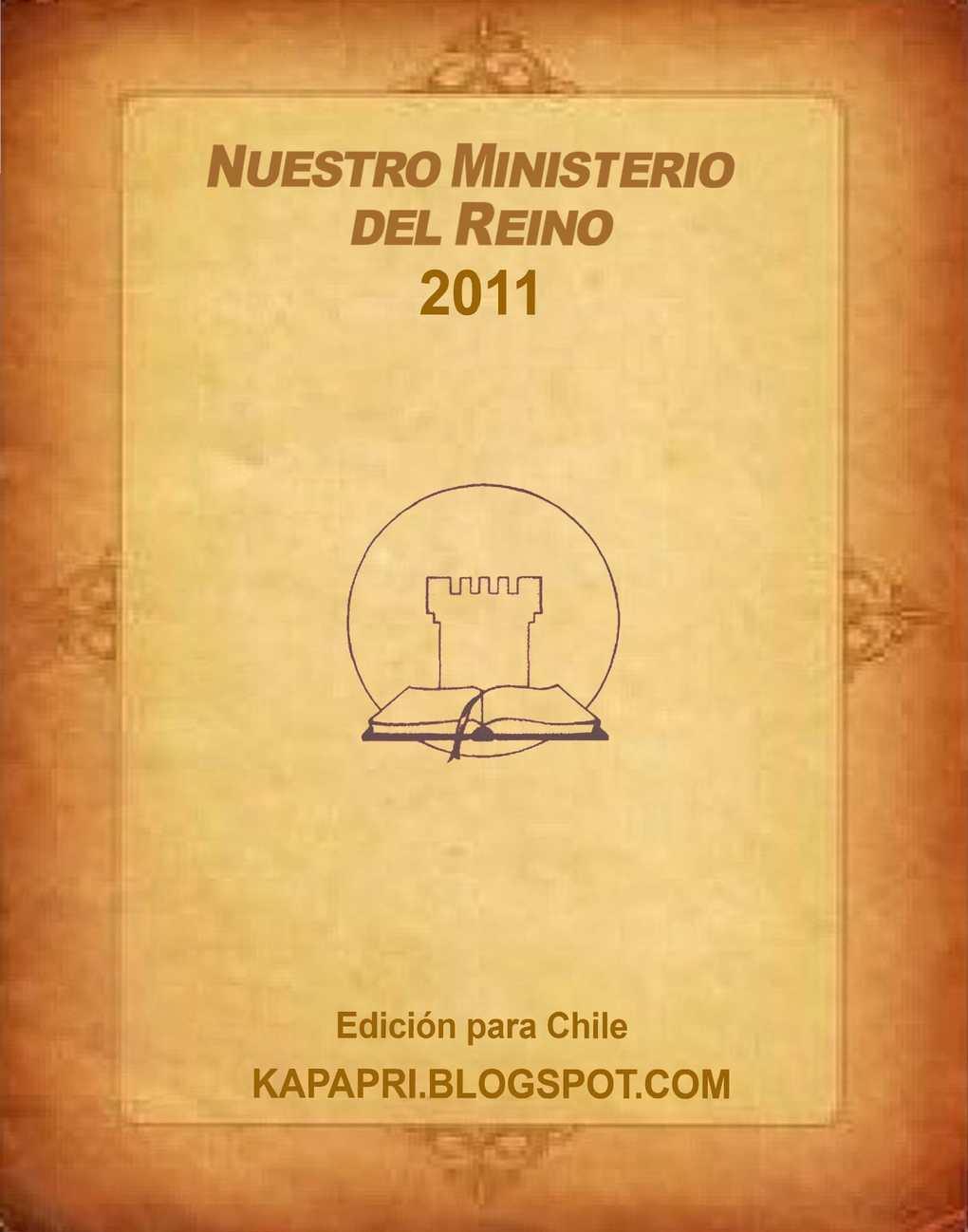 2011 Nuestro Miniserio el Reino