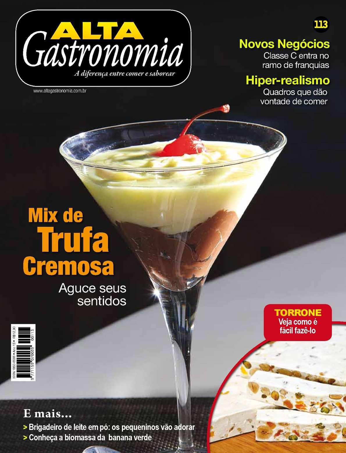 Alta Gastronomia 113