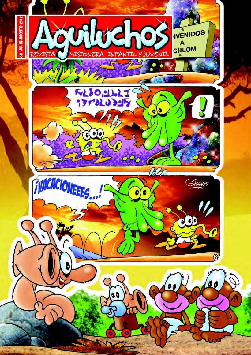 Aguiluchos nº 611 julio-agosto 2012