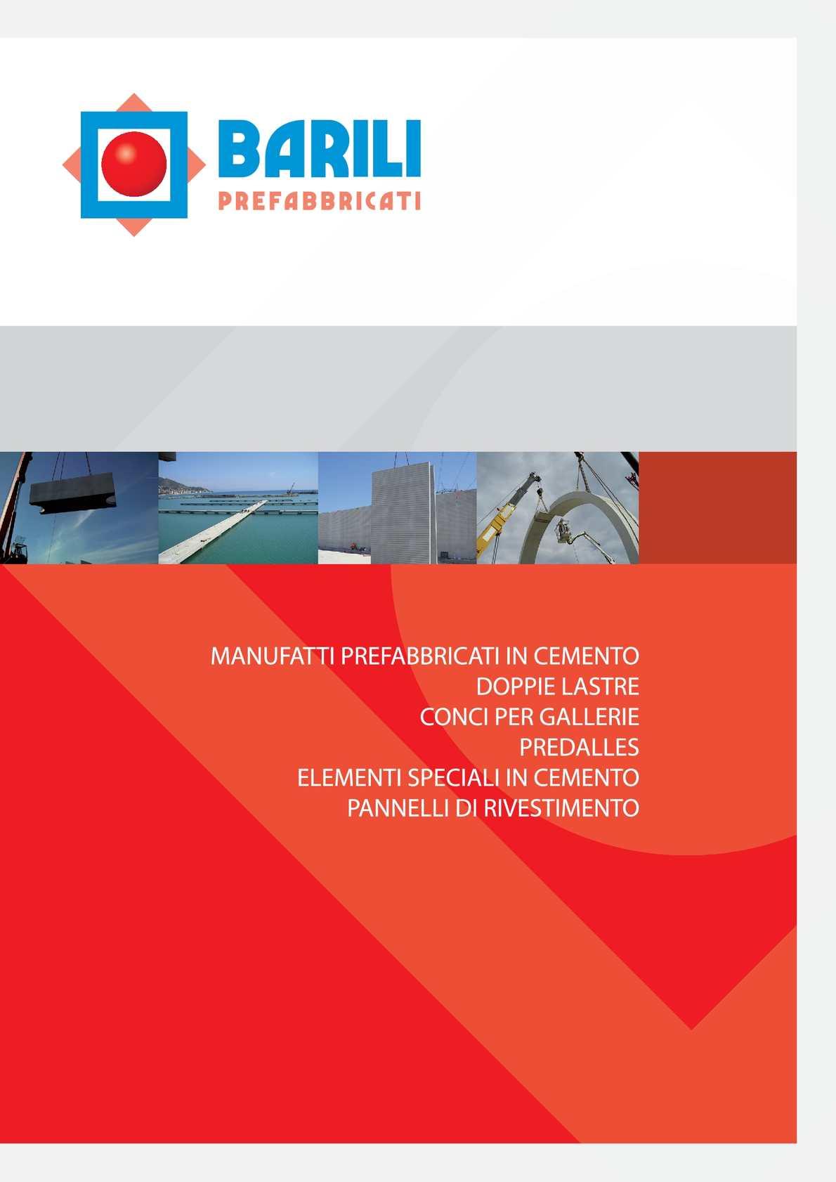 Calaméo - Catalogo prodotti Prefabbricati Barili
