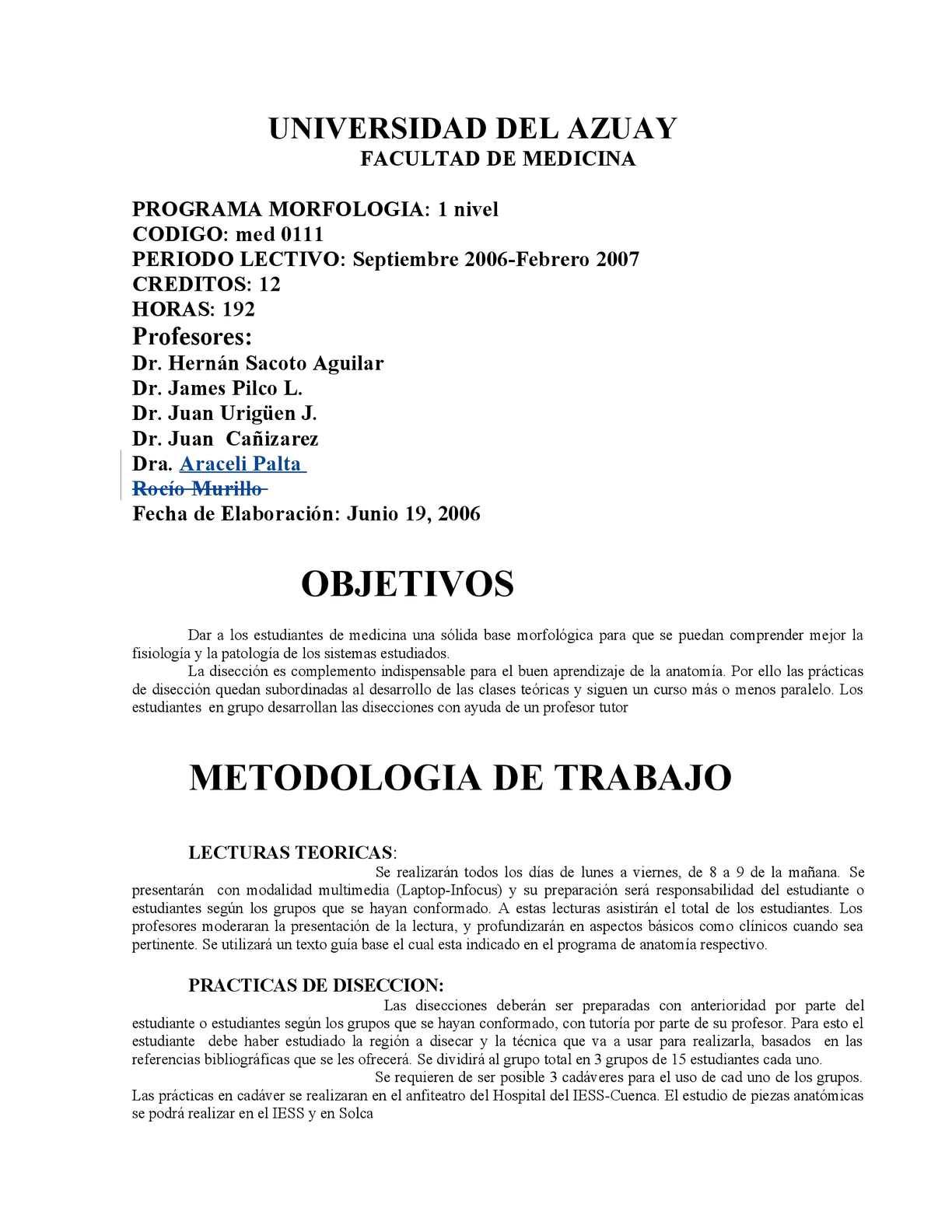 Calaméo - morfologia