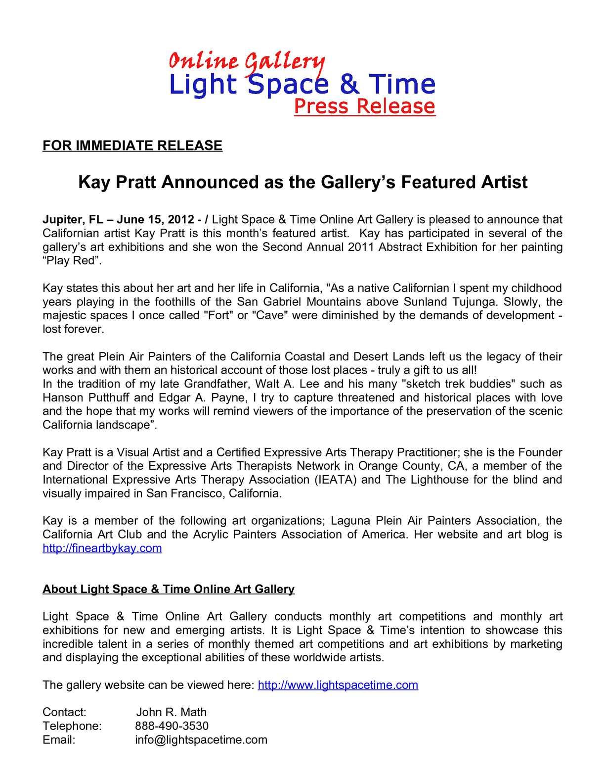 Calamo Kay Pratt Chosen For The Gallerys Artist Showcase
