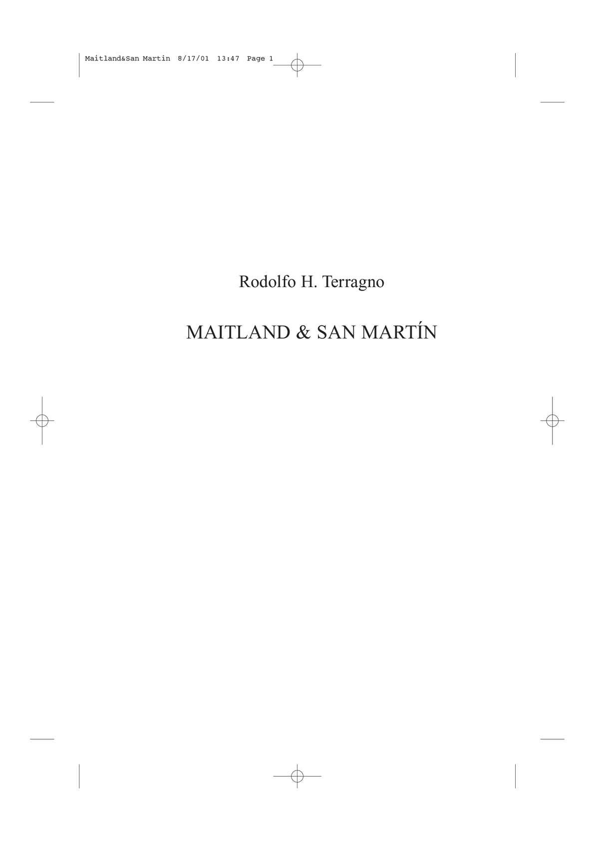 Calaméo - Maitland-San-Martin_Rodolfo Terragno