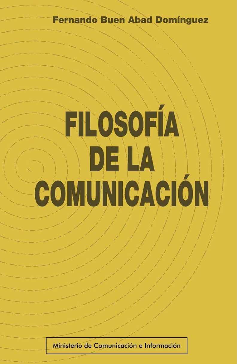 Calaméo - filosofia de la comunicacion