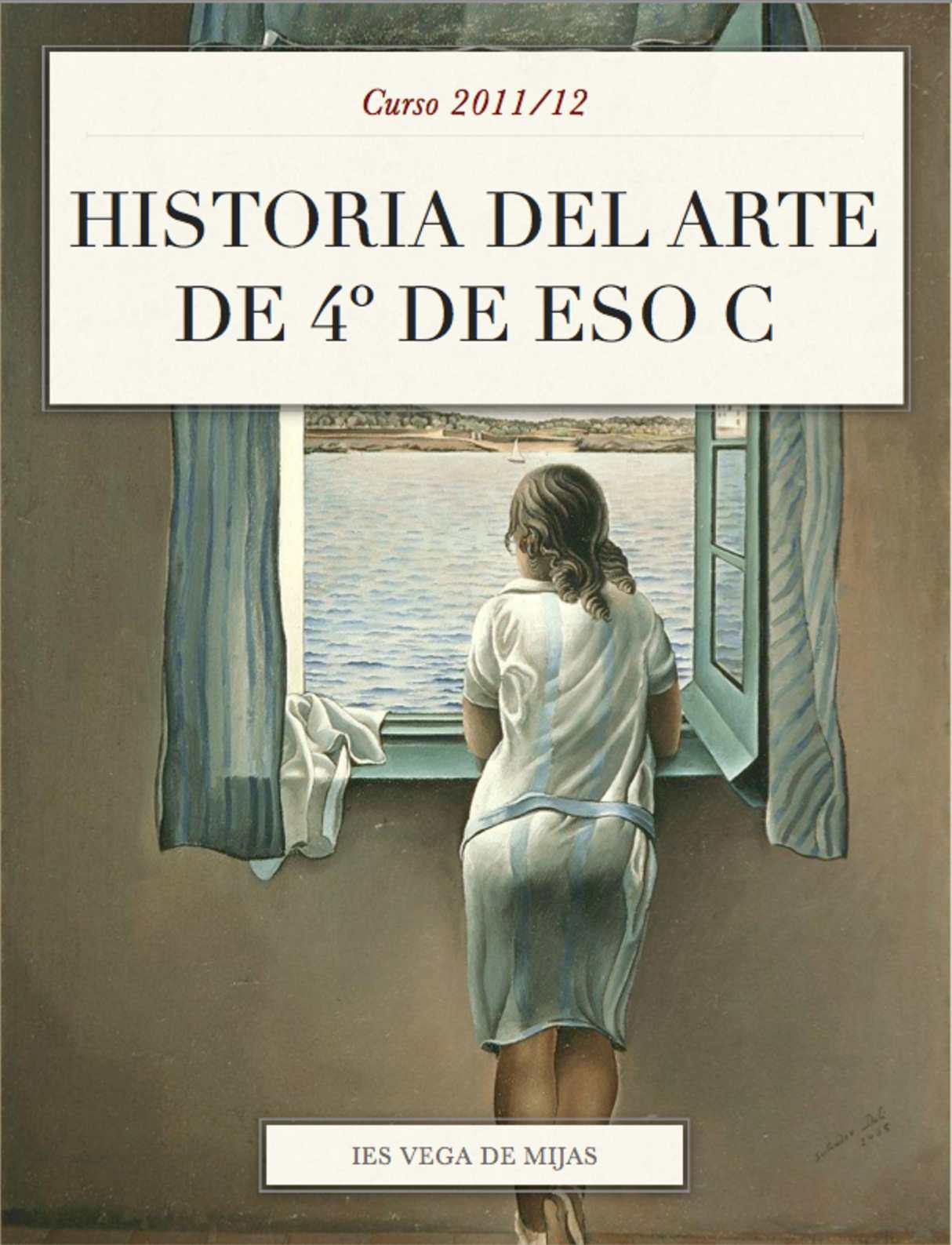 Calaméo - Libro de historia del arte 4º ESO-C Curso 2011/12
