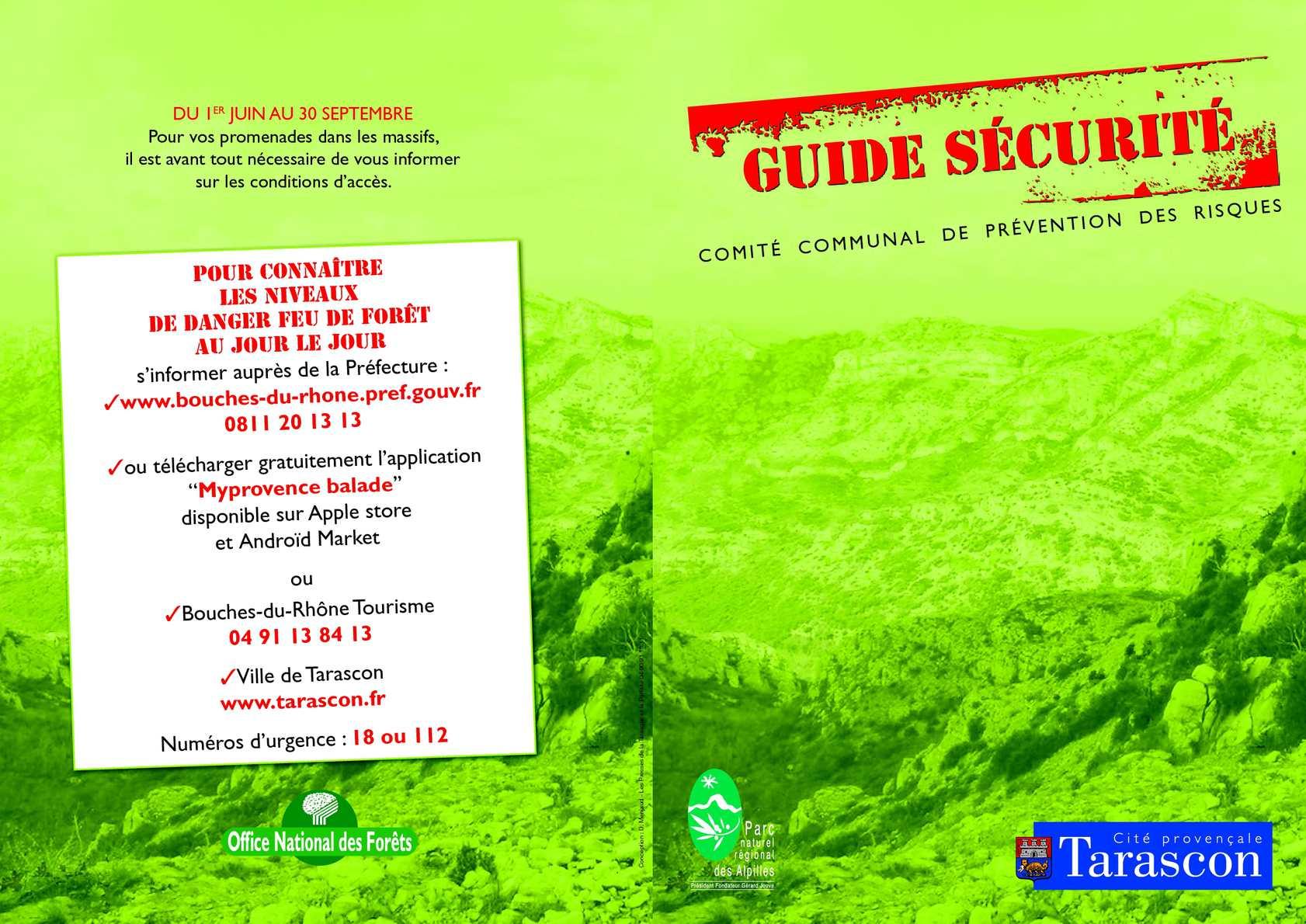 calam o guide 2012 protection alpilles et montagnette vigilance incendie tarascon. Black Bedroom Furniture Sets. Home Design Ideas