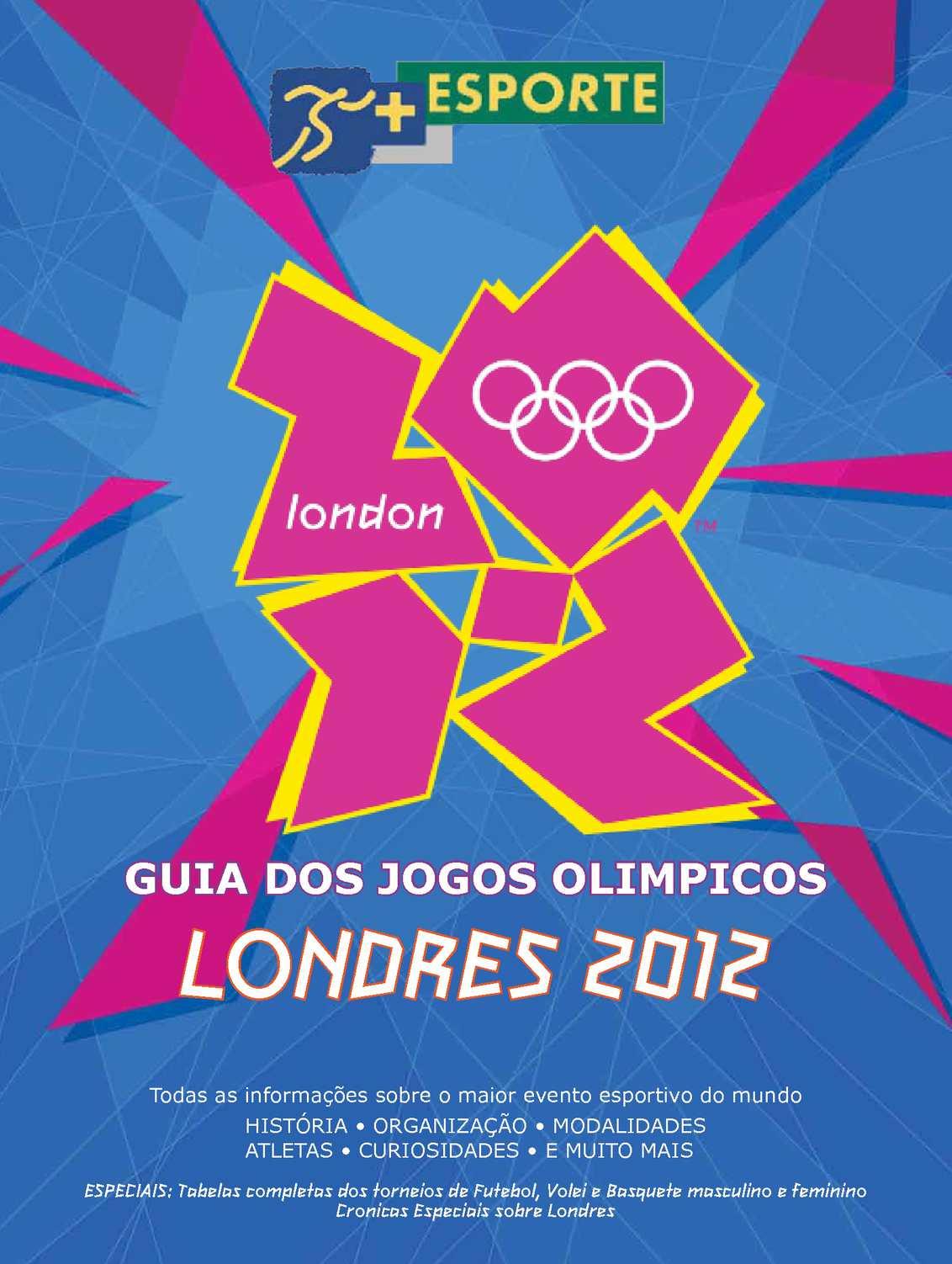 Calaméo - Guia +Esporte Jogos Olímpicos Londres 2012 d031940ed6