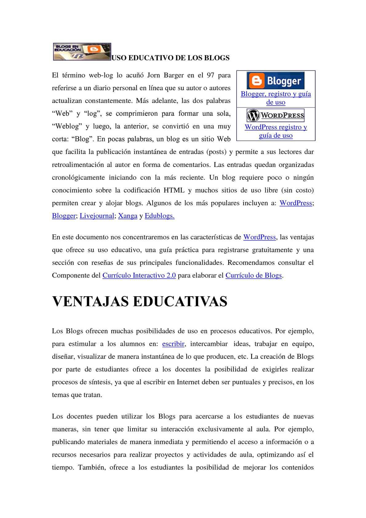 Calaméo - USO EDUCATIVO DE LOS BLOGS