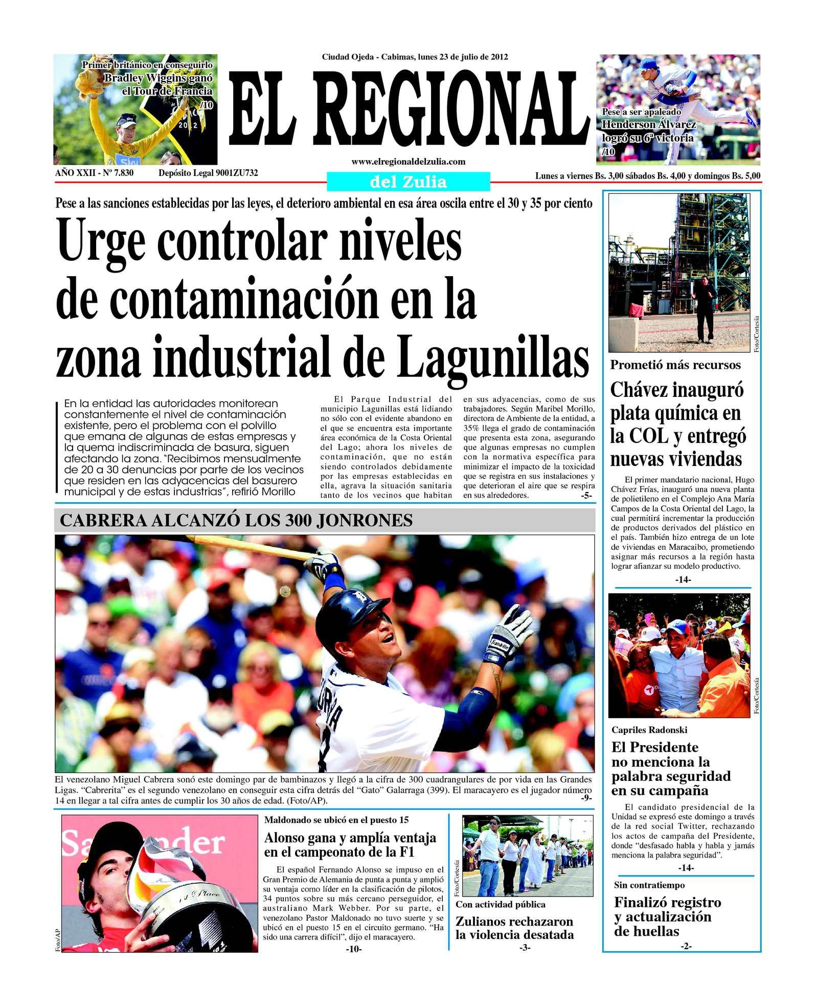 Calaméo - El Regional del Zulia 23-07-2012