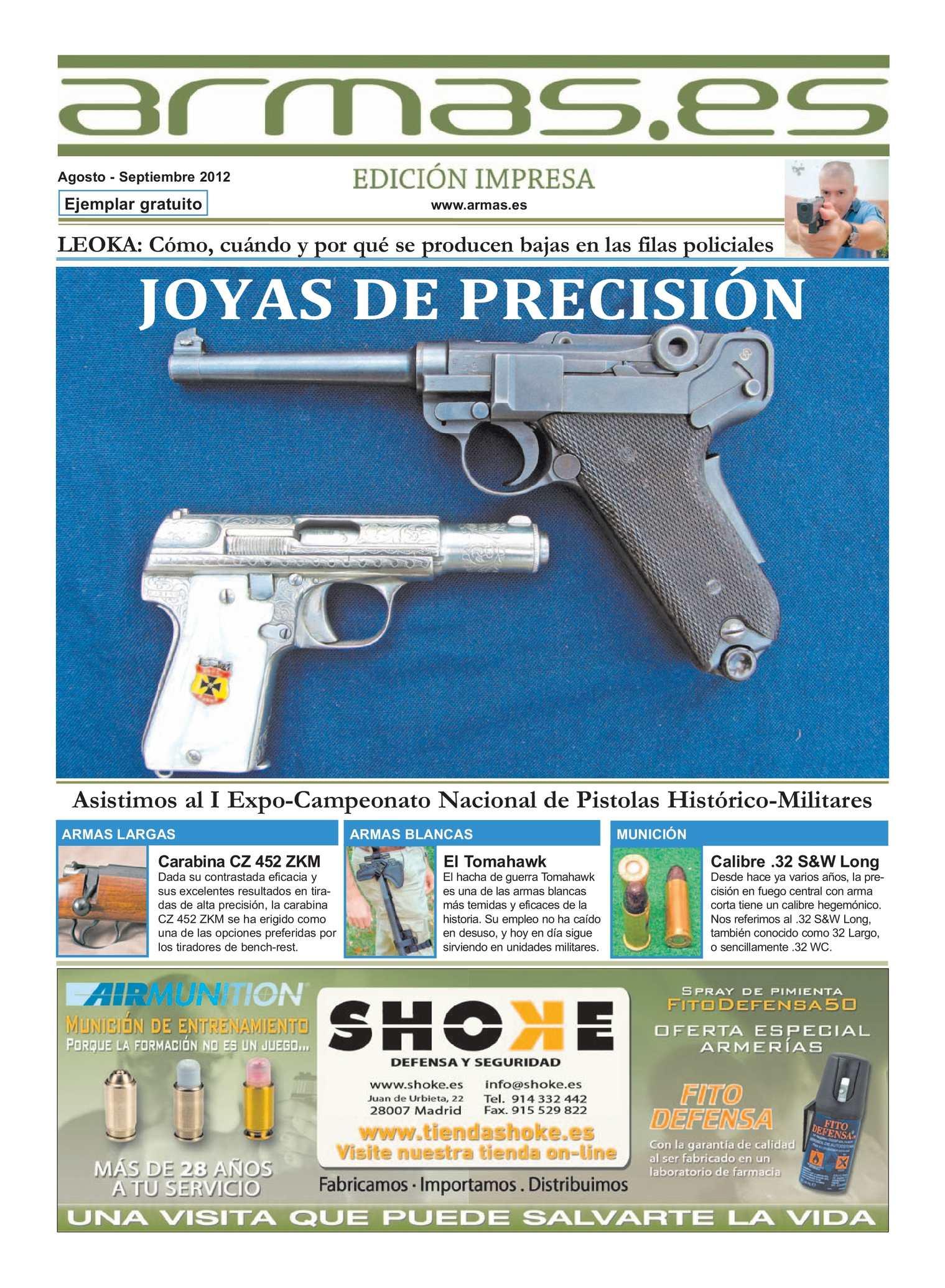 Calaméo - Periódico Armas.es Edición Impresa. nº 43. Agosto ...