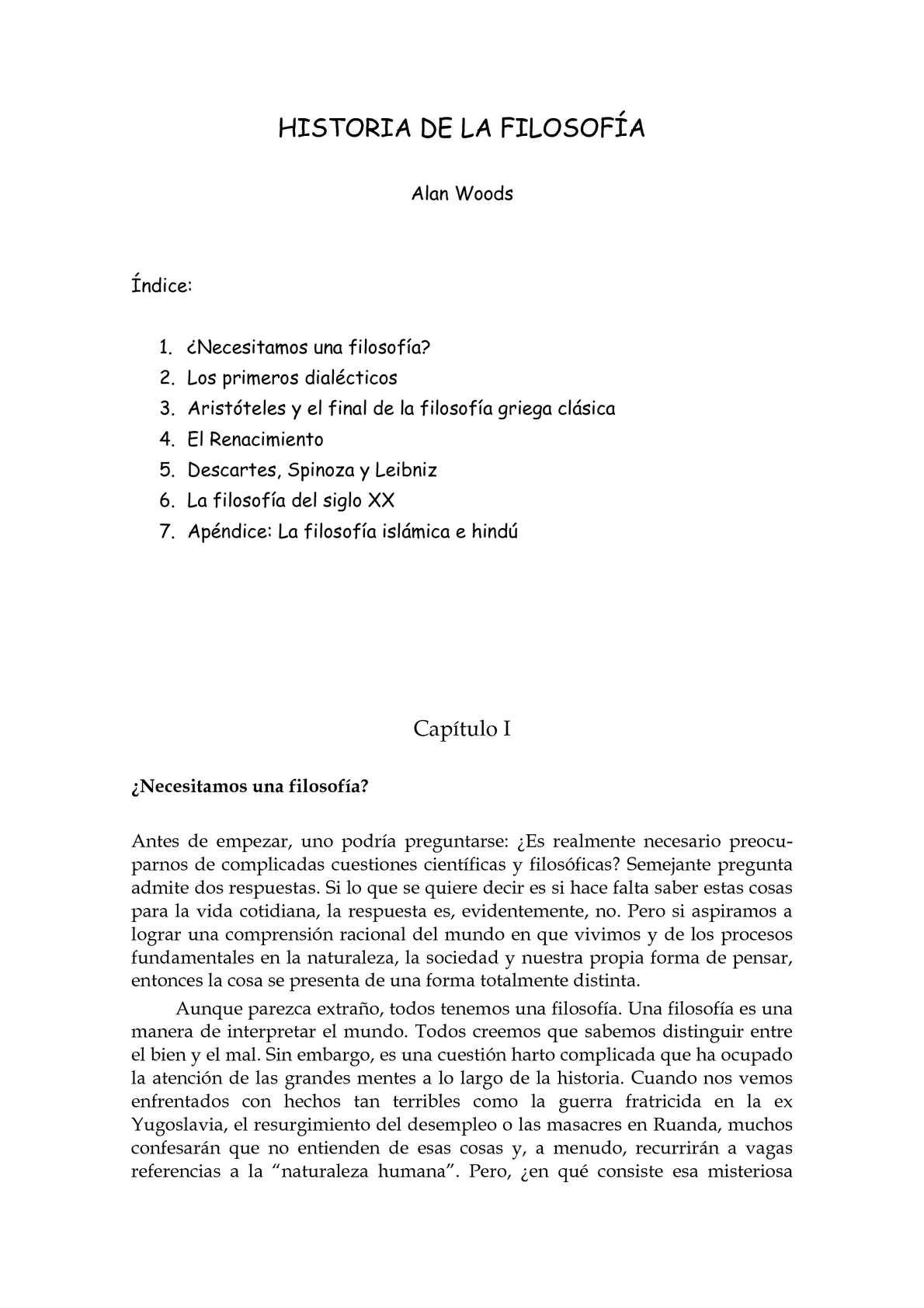 Calaméo - Historia de la Filosofía