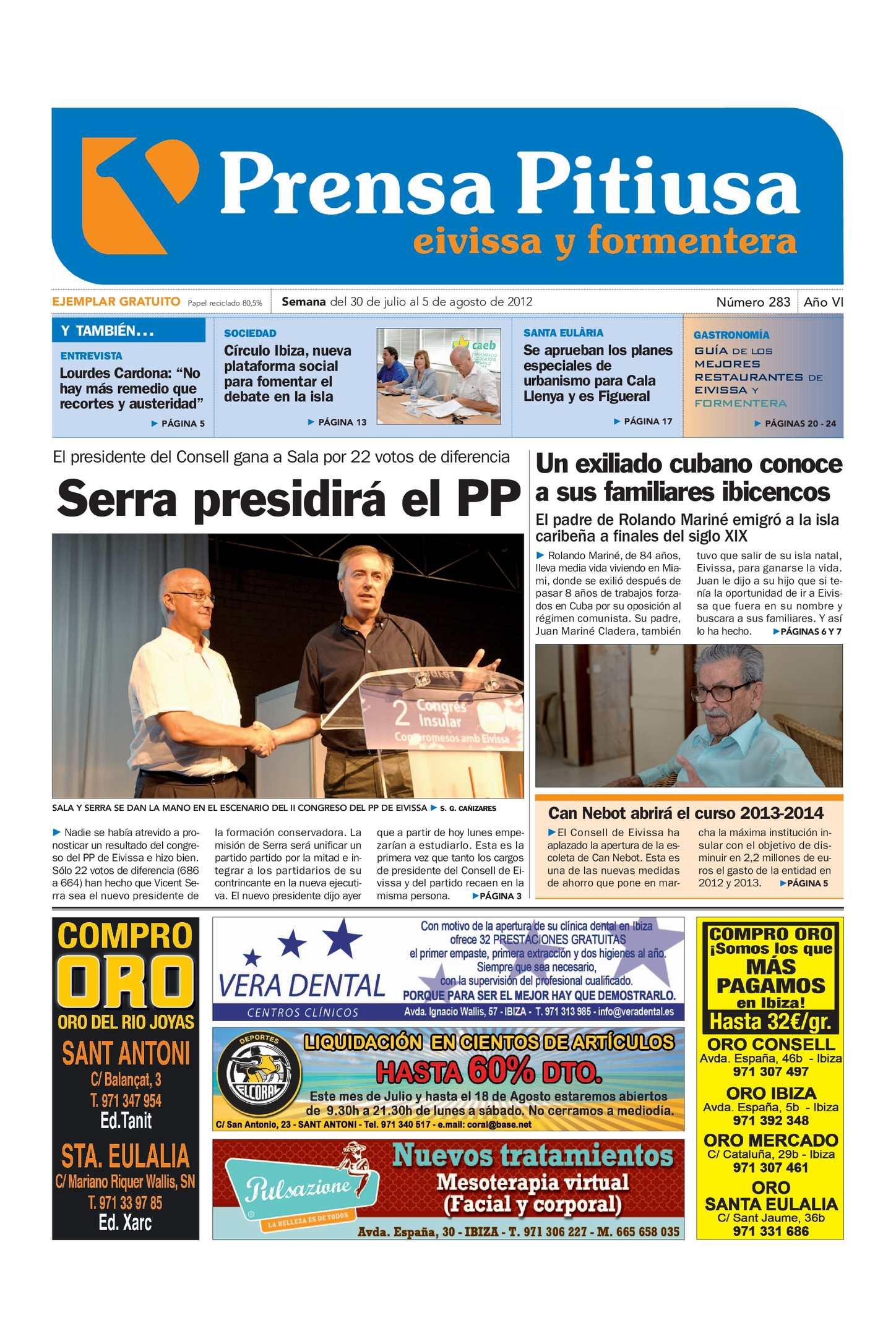 Calaméo - Prensa Pitiusa edición 283