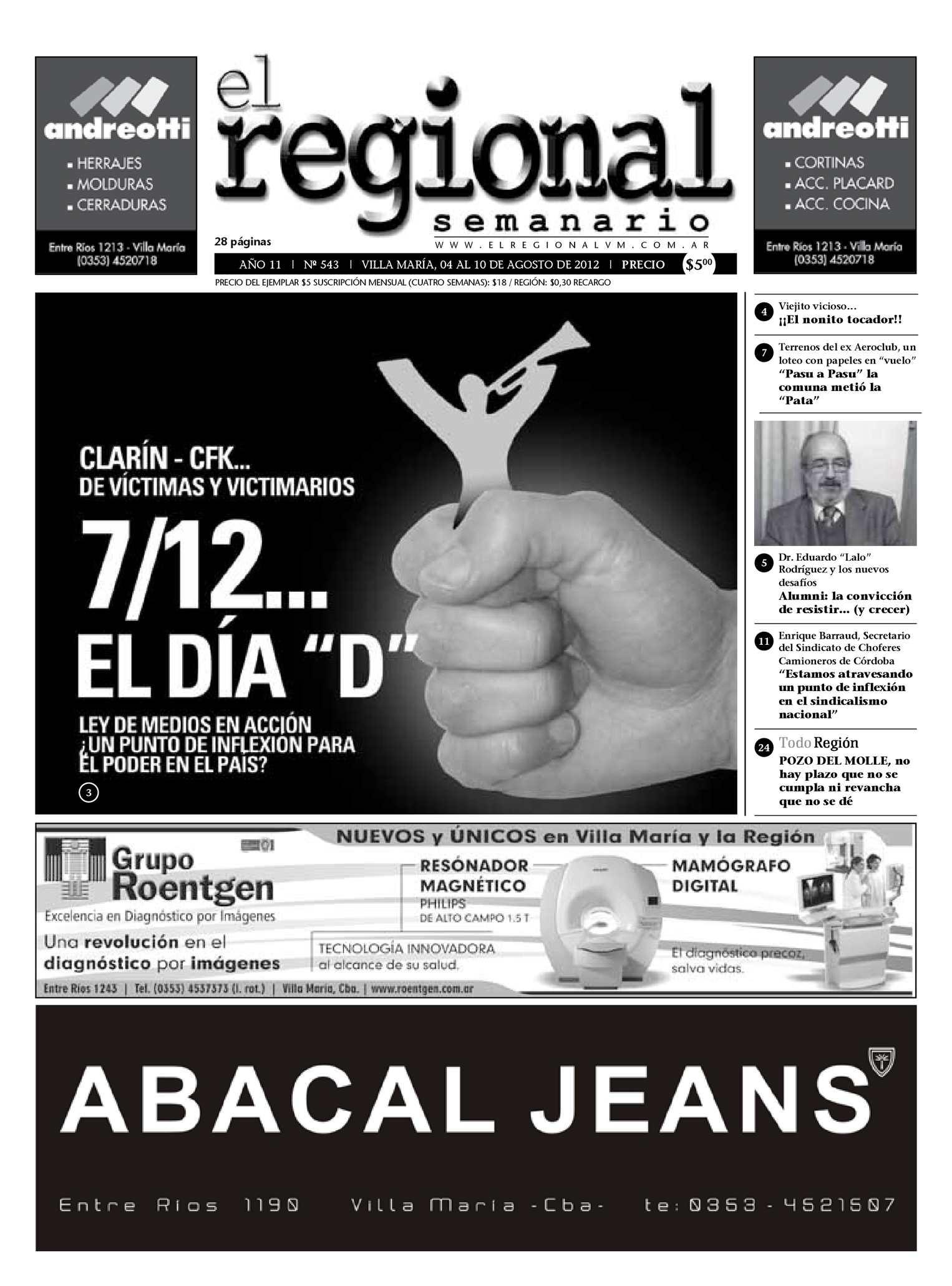 Calaméo - Semanario El Regional 543