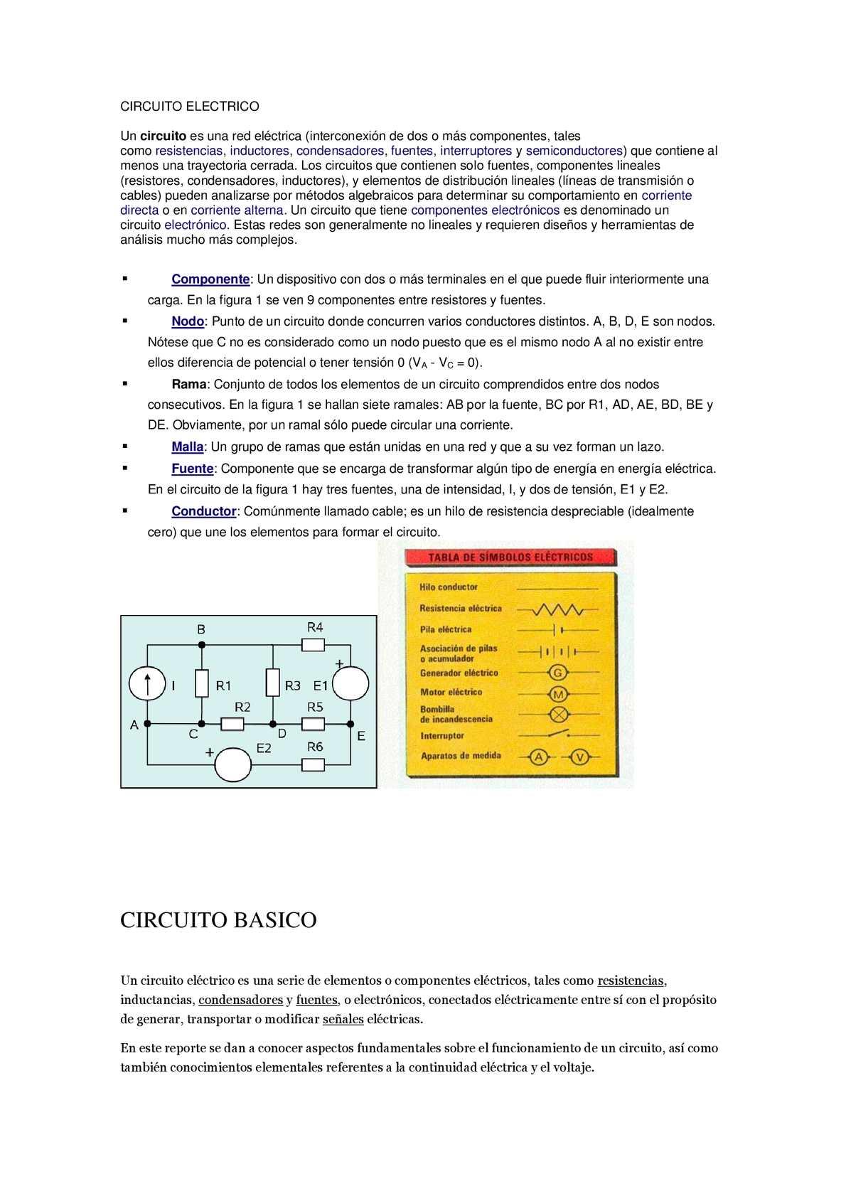Circuito Basico Electrico : Calaméo circuitos electricos basicos