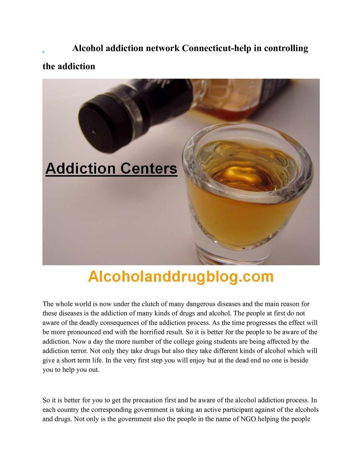 alcohol addiction getting help