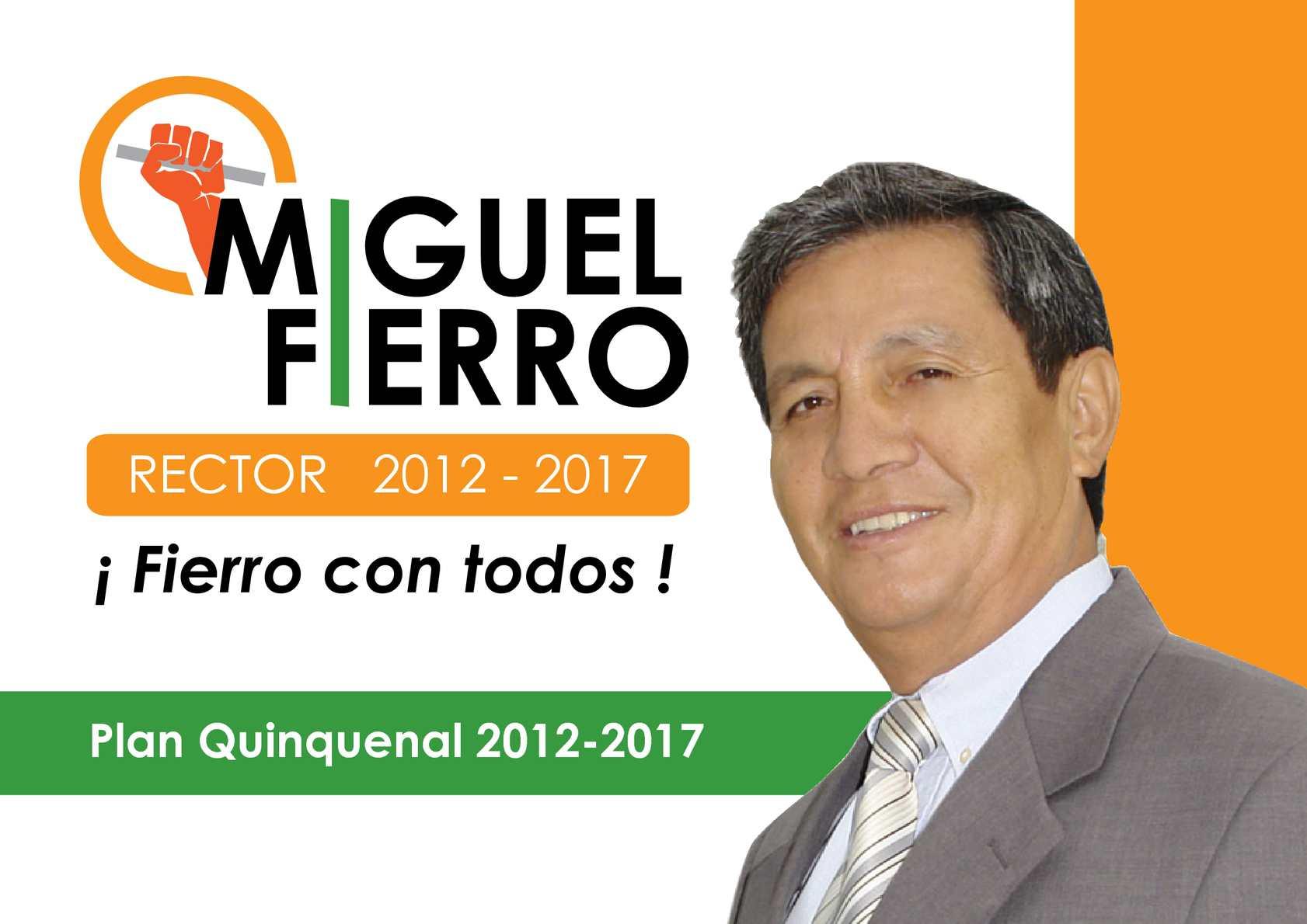 Propuestas Ing. Miguel Fierro para Rector de ESPOL