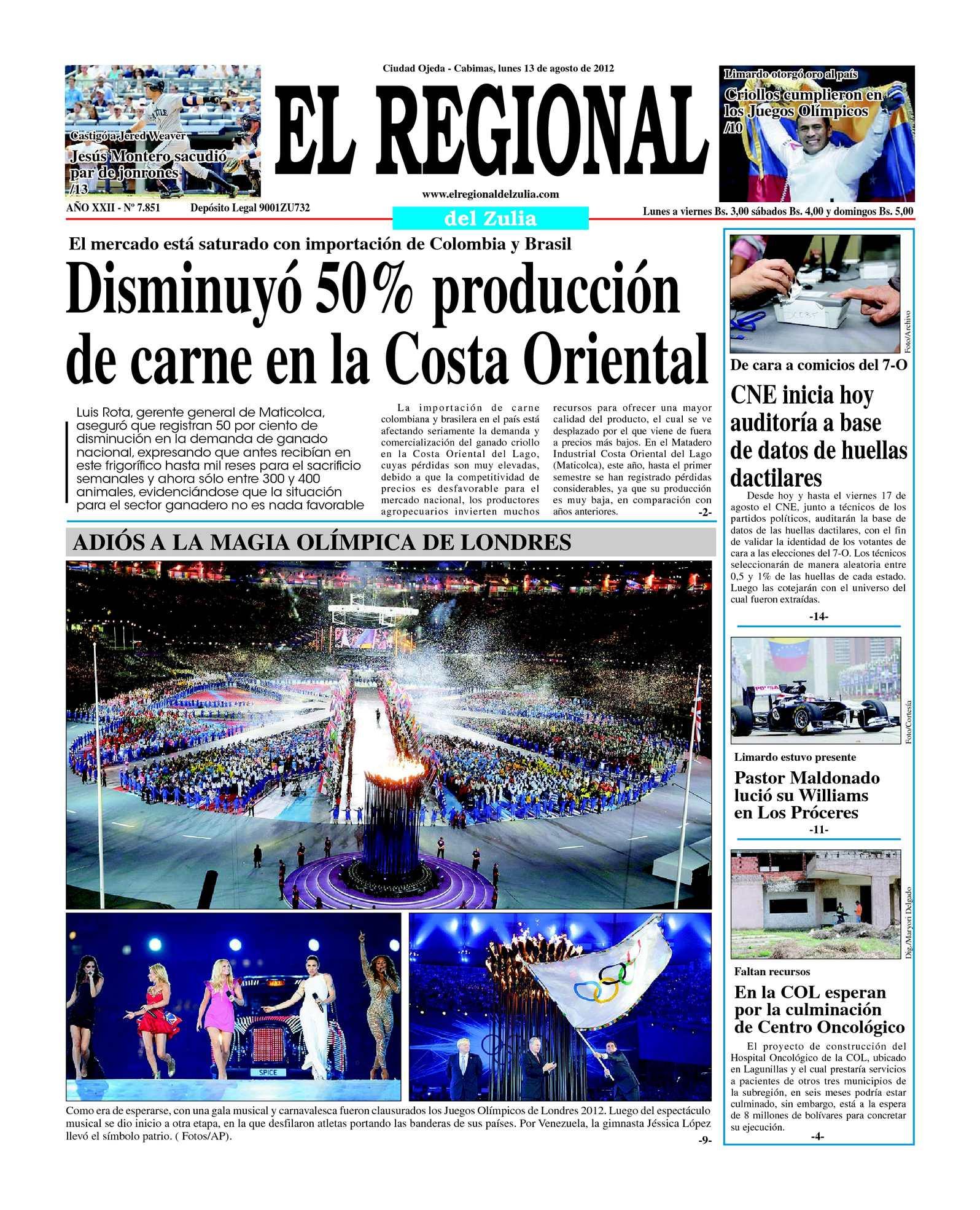 Calaméo - El Regional del Zulia 13-08-2012