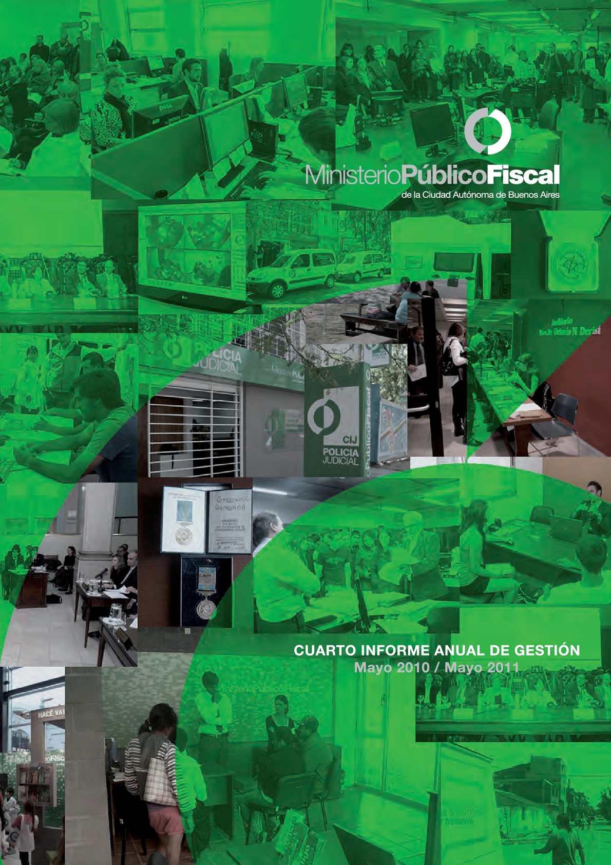 Calam o 4to informe de gesti n 2011 mpf de la caba for Villas 321 combate