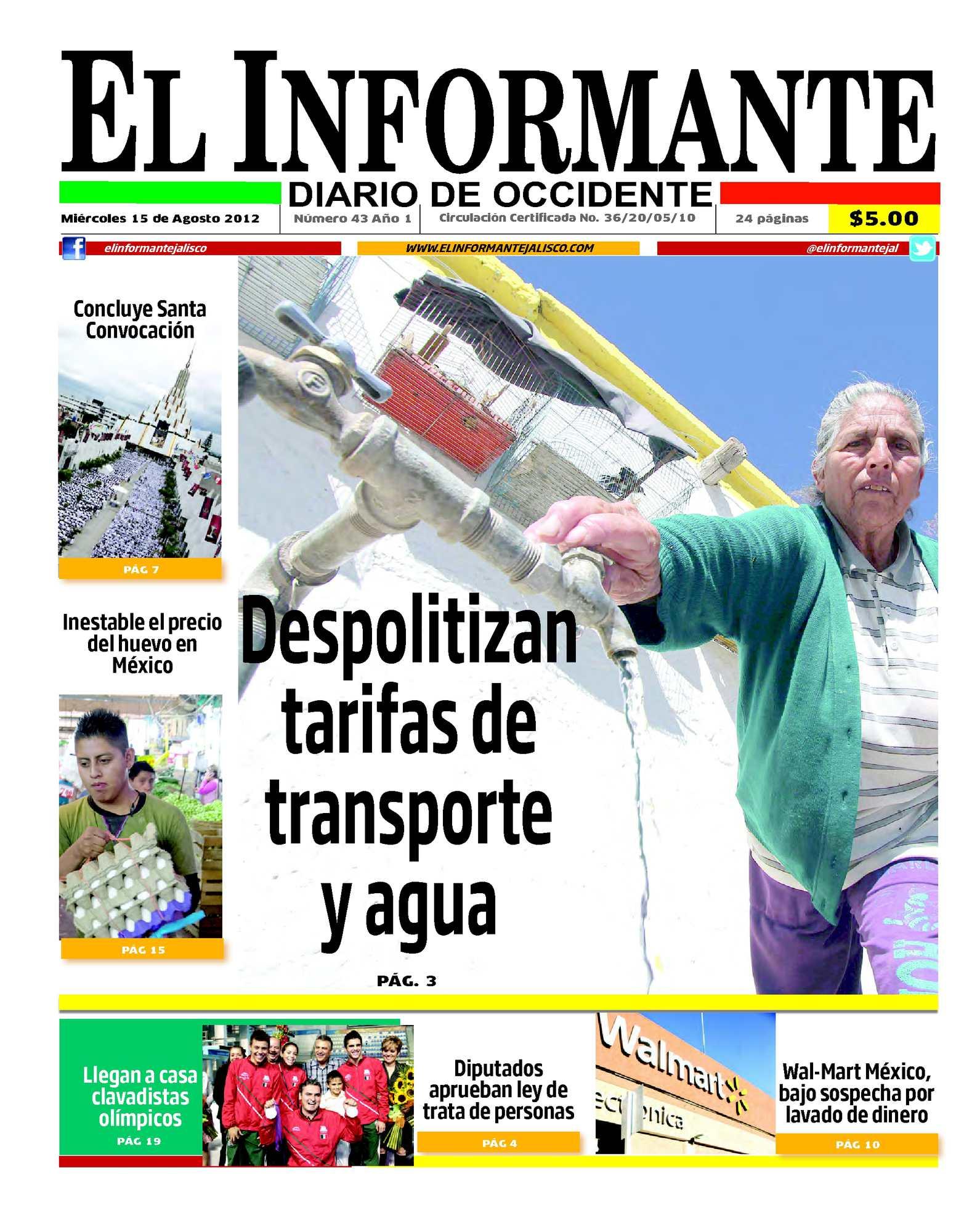 Calaméo - El Informante 15 de agosto 2012