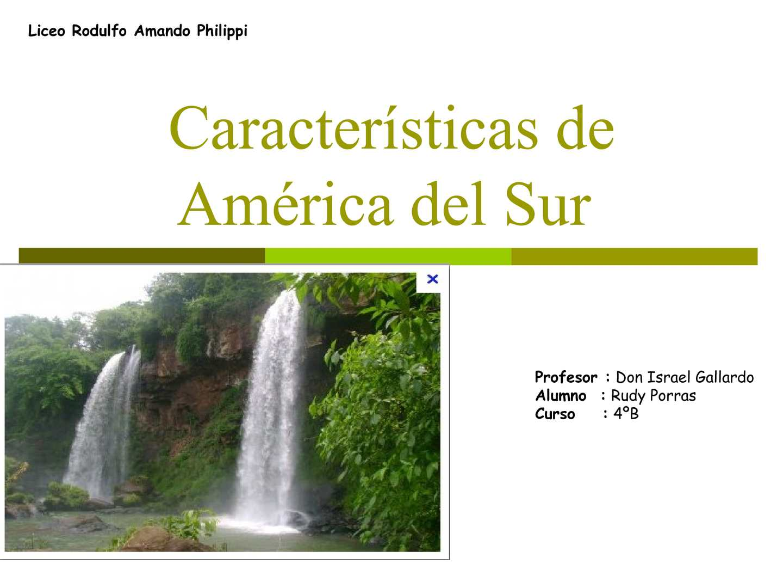 america latina caracteristicas generales de la - photo#41
