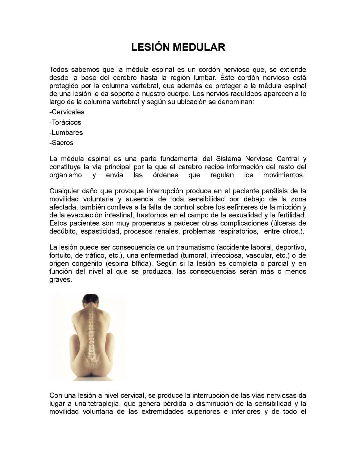 Calaméo - Lesión medular