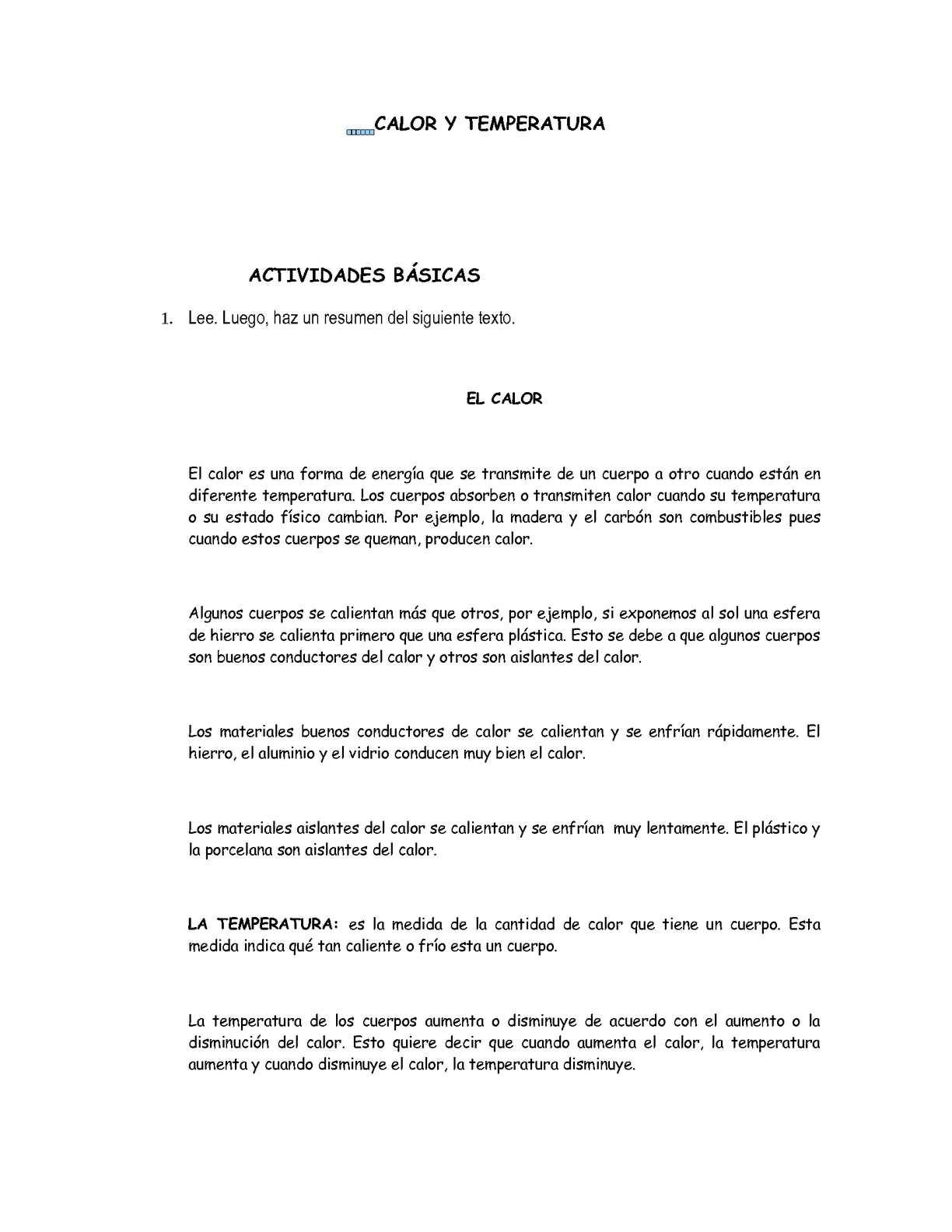 Calaméo - CALOR Y TEMPERATURA