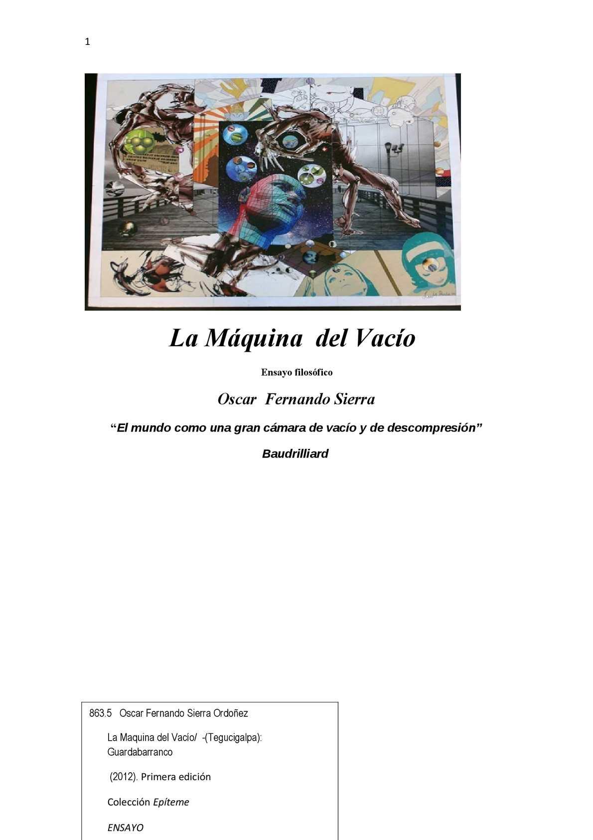 Calaméo - LA MAQUINA DEL VACIO