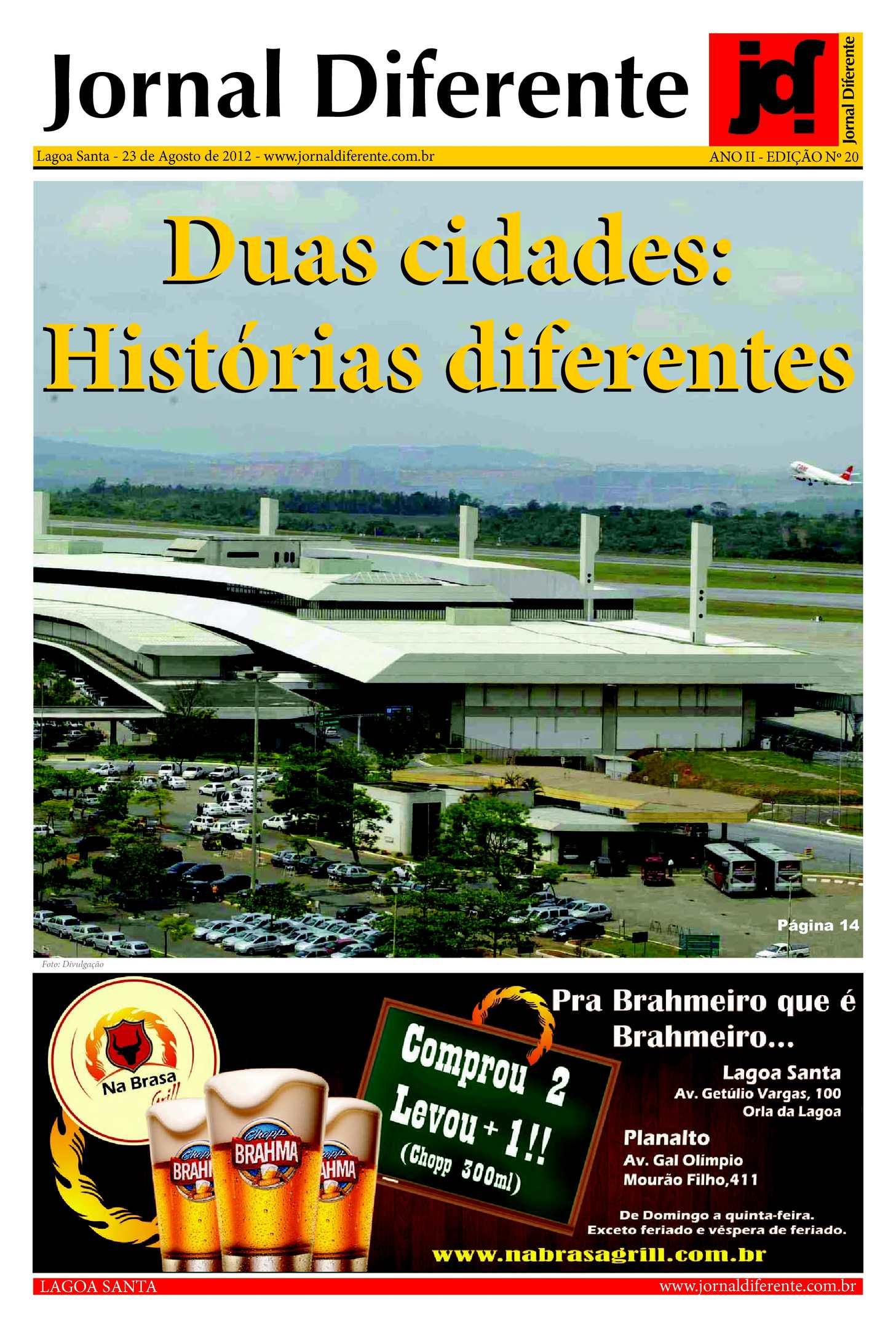 Jornal Diferente - 23 de Agosto de 2012 - Edição 20