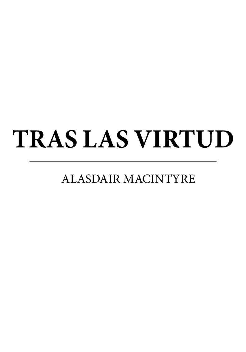 Calaméo - Macintyre Alasdair - Tras La Virtud