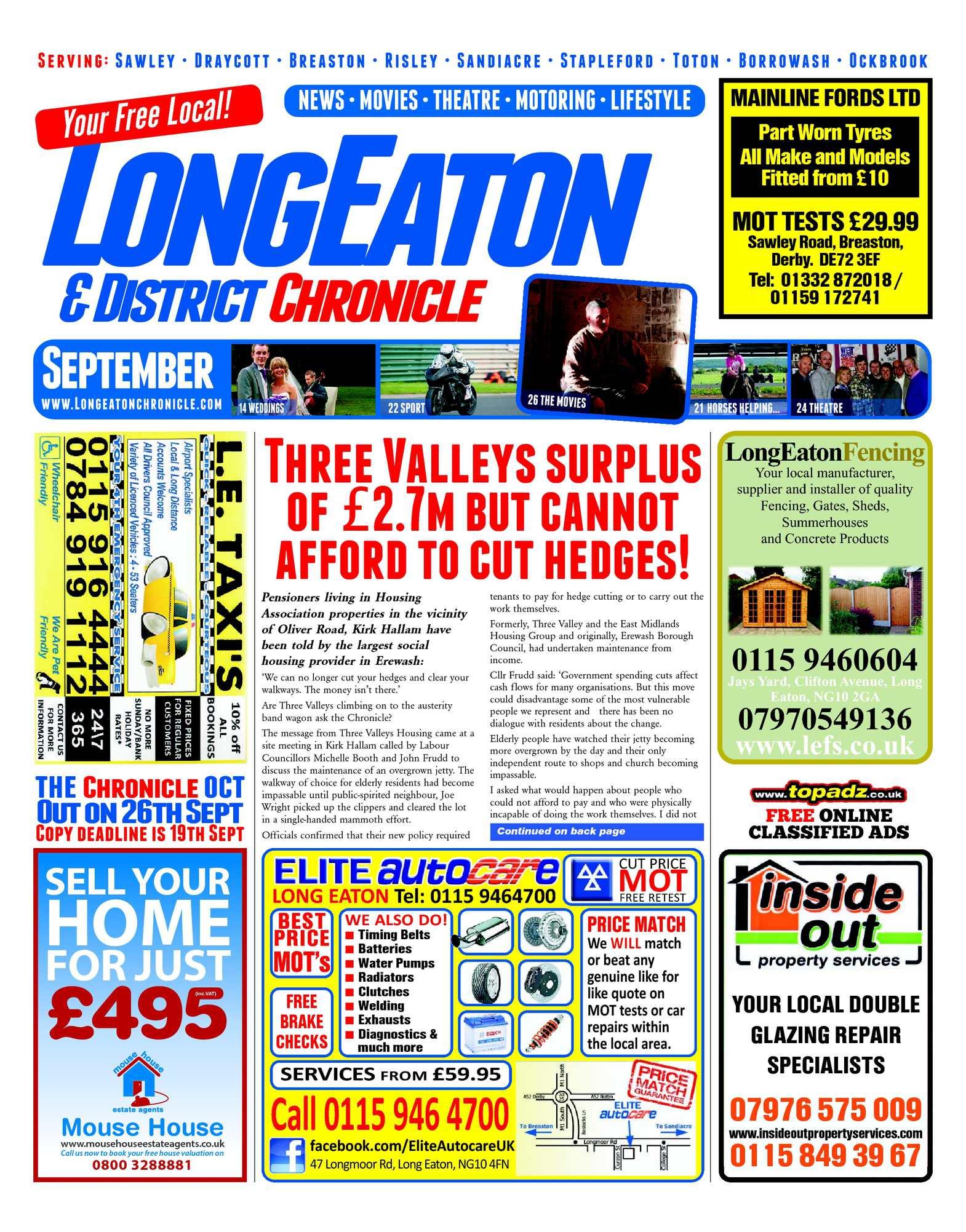 Calamo Sept 2012 Long Eaton Chronicle Reel Pioneer Masterpiece Mp 2000