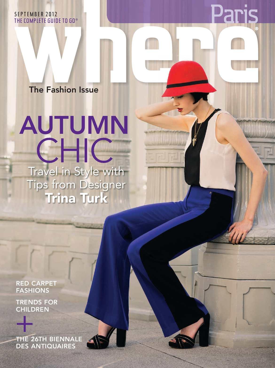 78831ef57e9 Calaméo - Where Paris Magazine - September 2012
