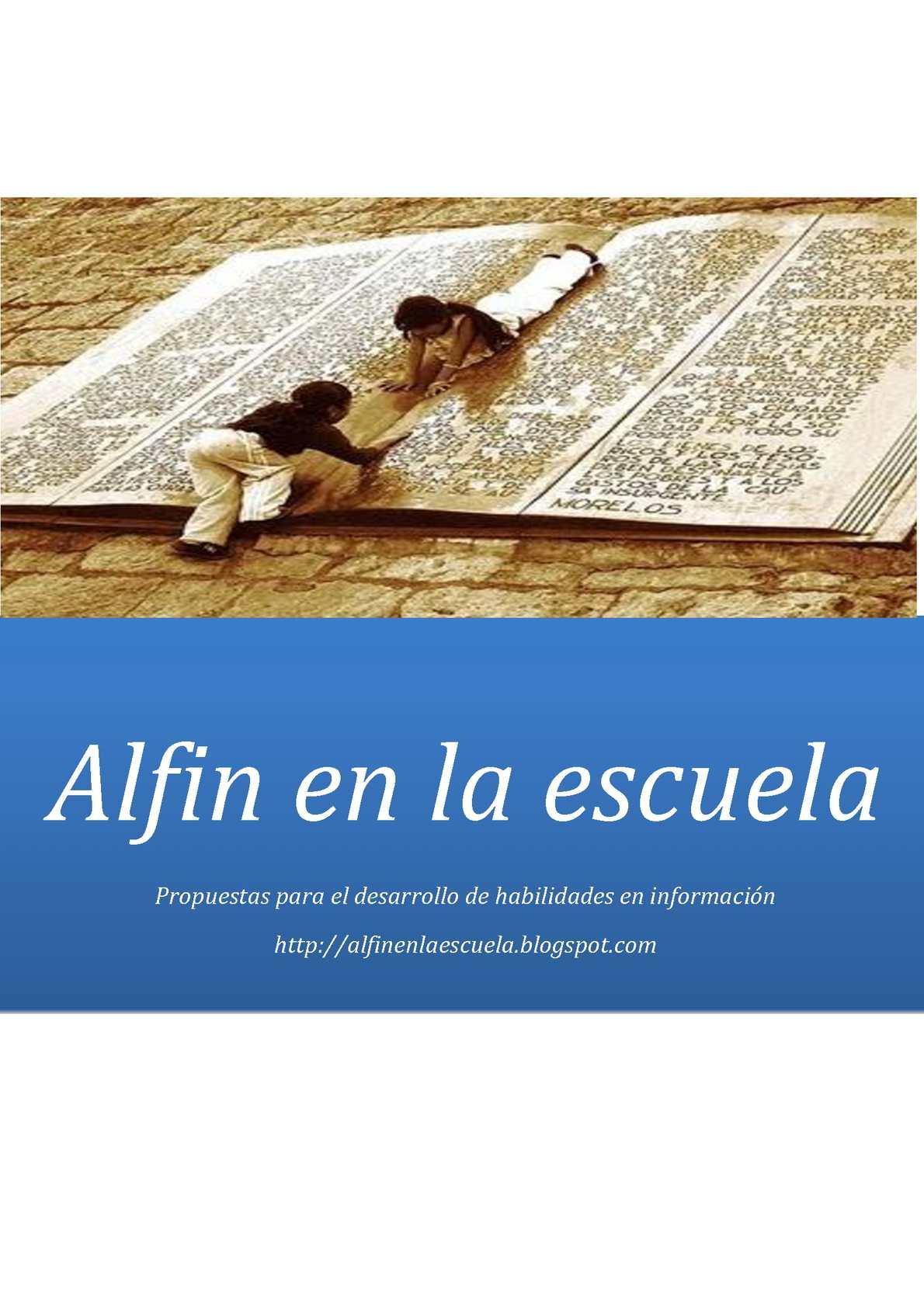 Calaméo - Alfin en la escuela: Propuestas para el desarrollo de ...