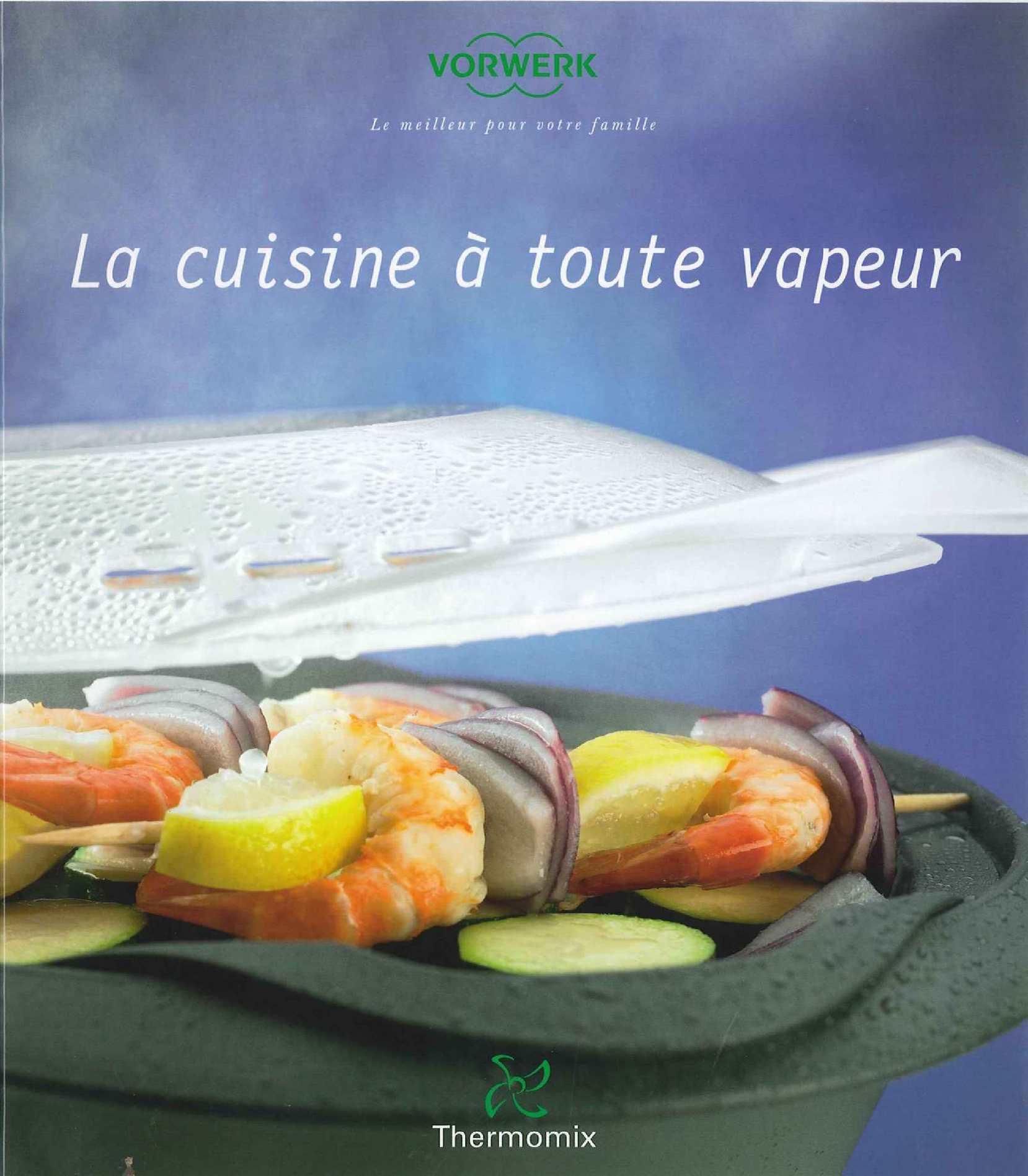 Calam o la cuisine toute vapeur thermomix - La cuisine a toute vapeur pdf ...