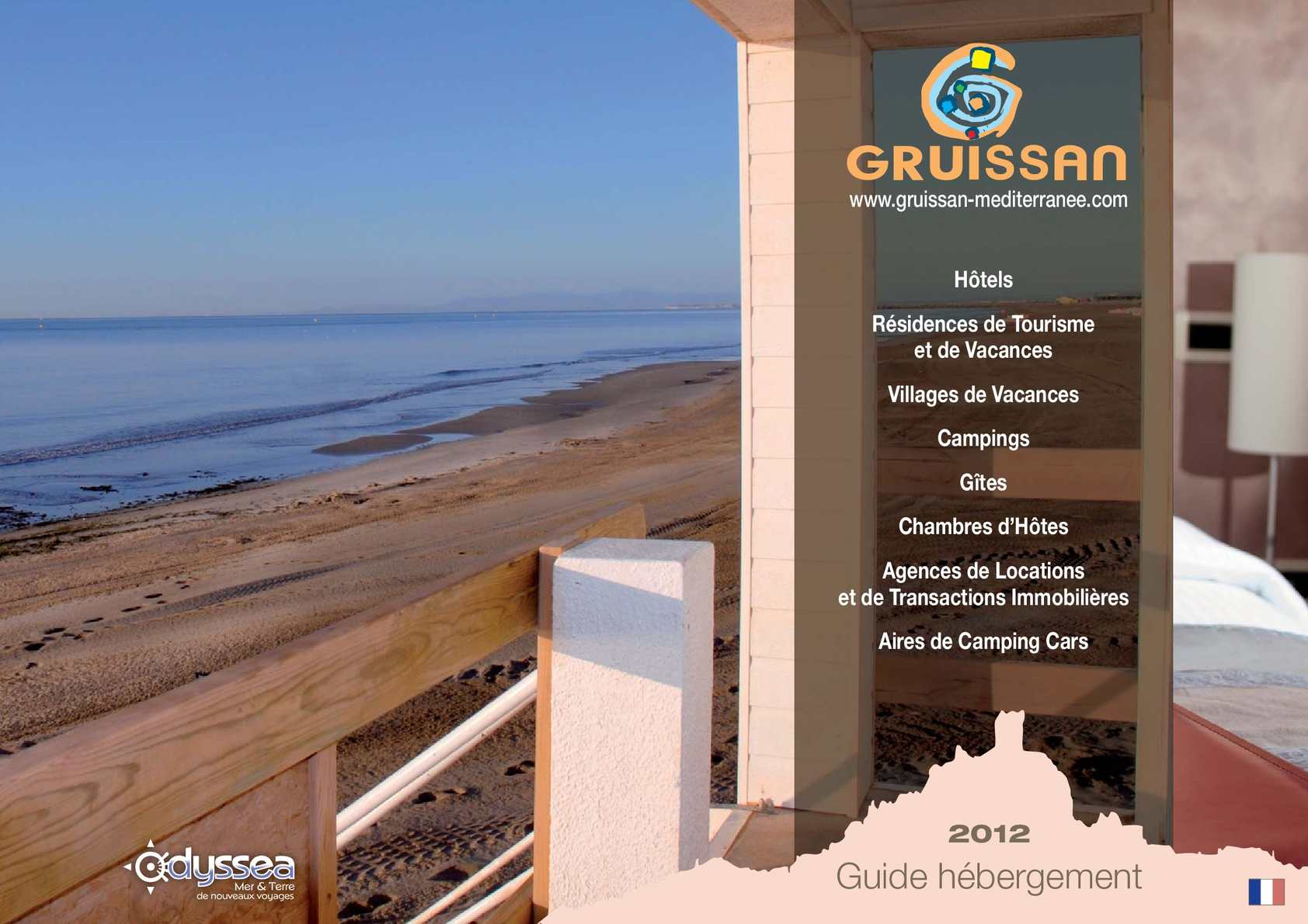 Calam o gruissan h bergement for Gruissan chambre hote