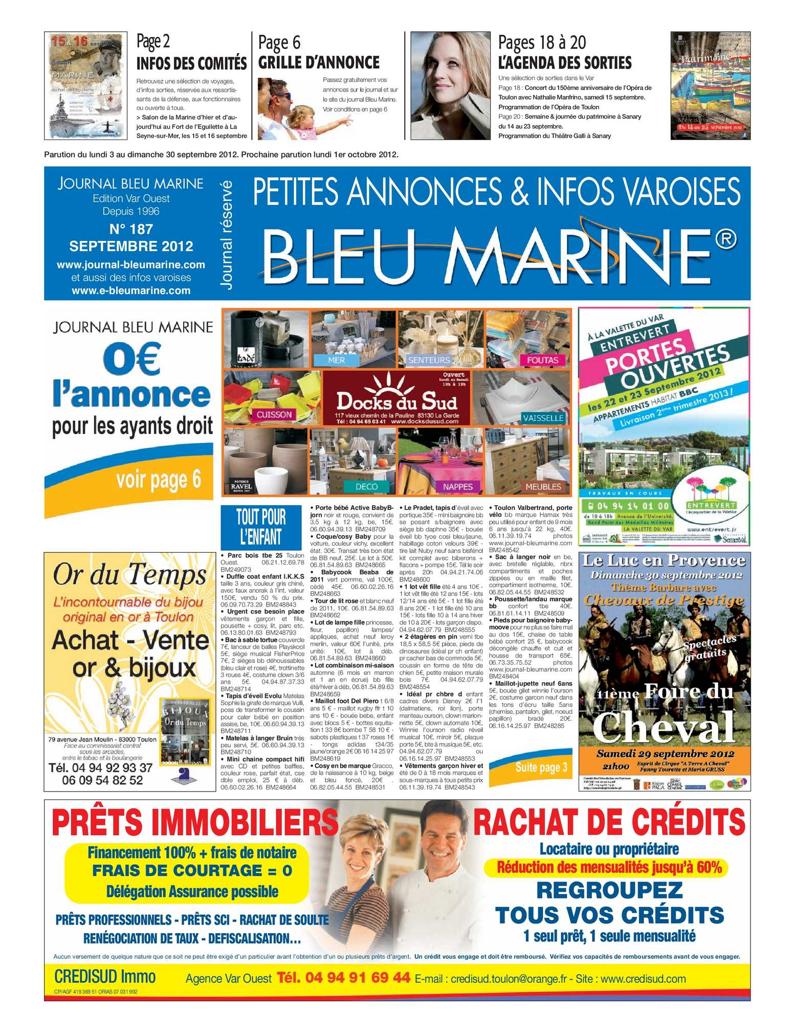 Calaméo - Journal Bleu Marine n°187 Septembre 2012 6ad80e5ed40