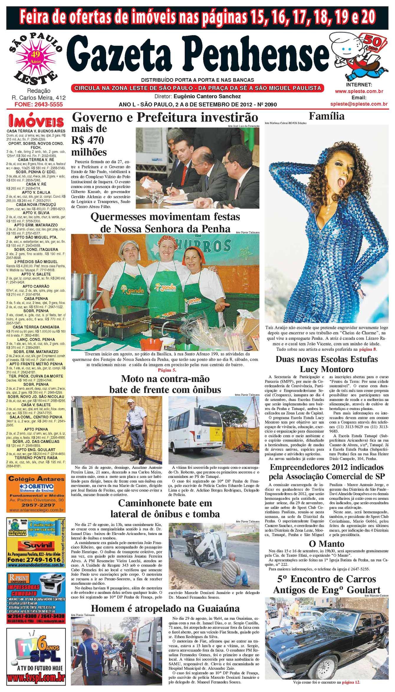 adb2913720 Calaméo - Gazeta Penhense - 2 a 8 de setembro de 2012 - edição 2090