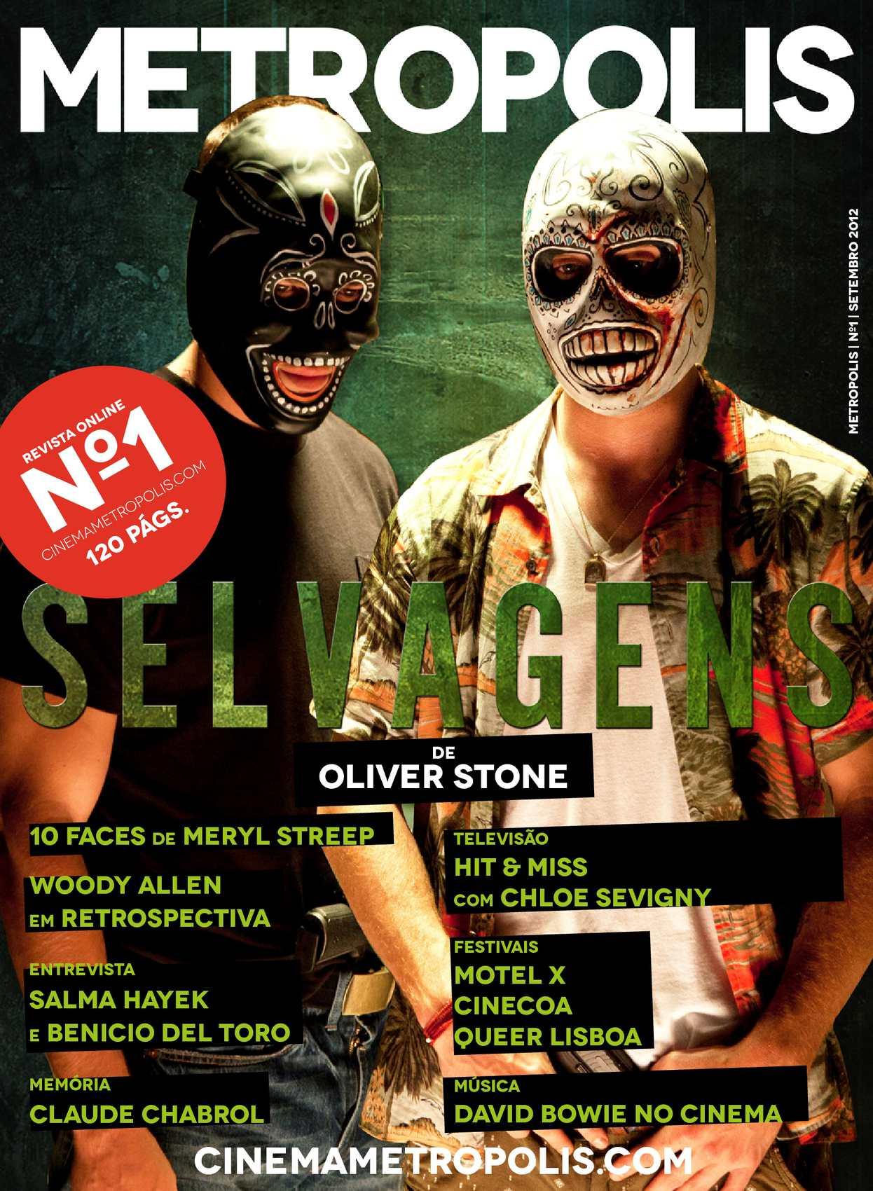 METROPOLIS Ed. 1 Setembro 2012