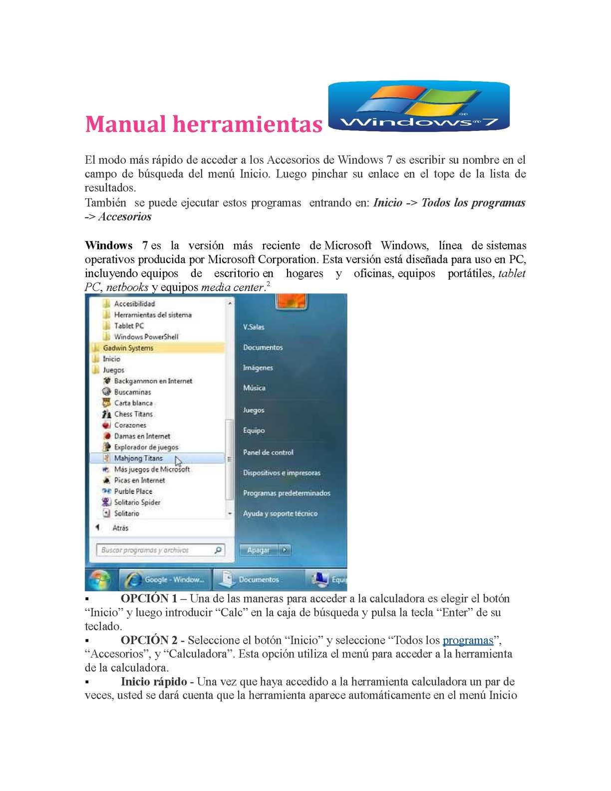 Calaméo - manual herramientas